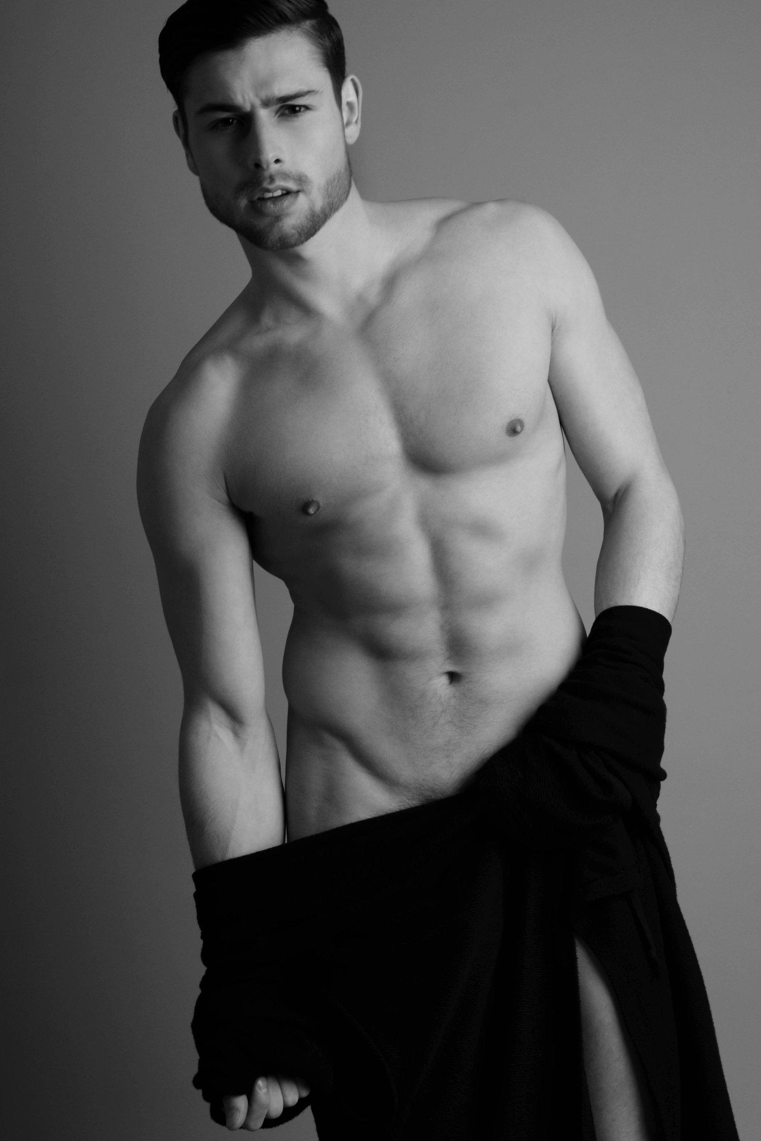 Adon Exclusive: Model Tom Walker By Malc Stone