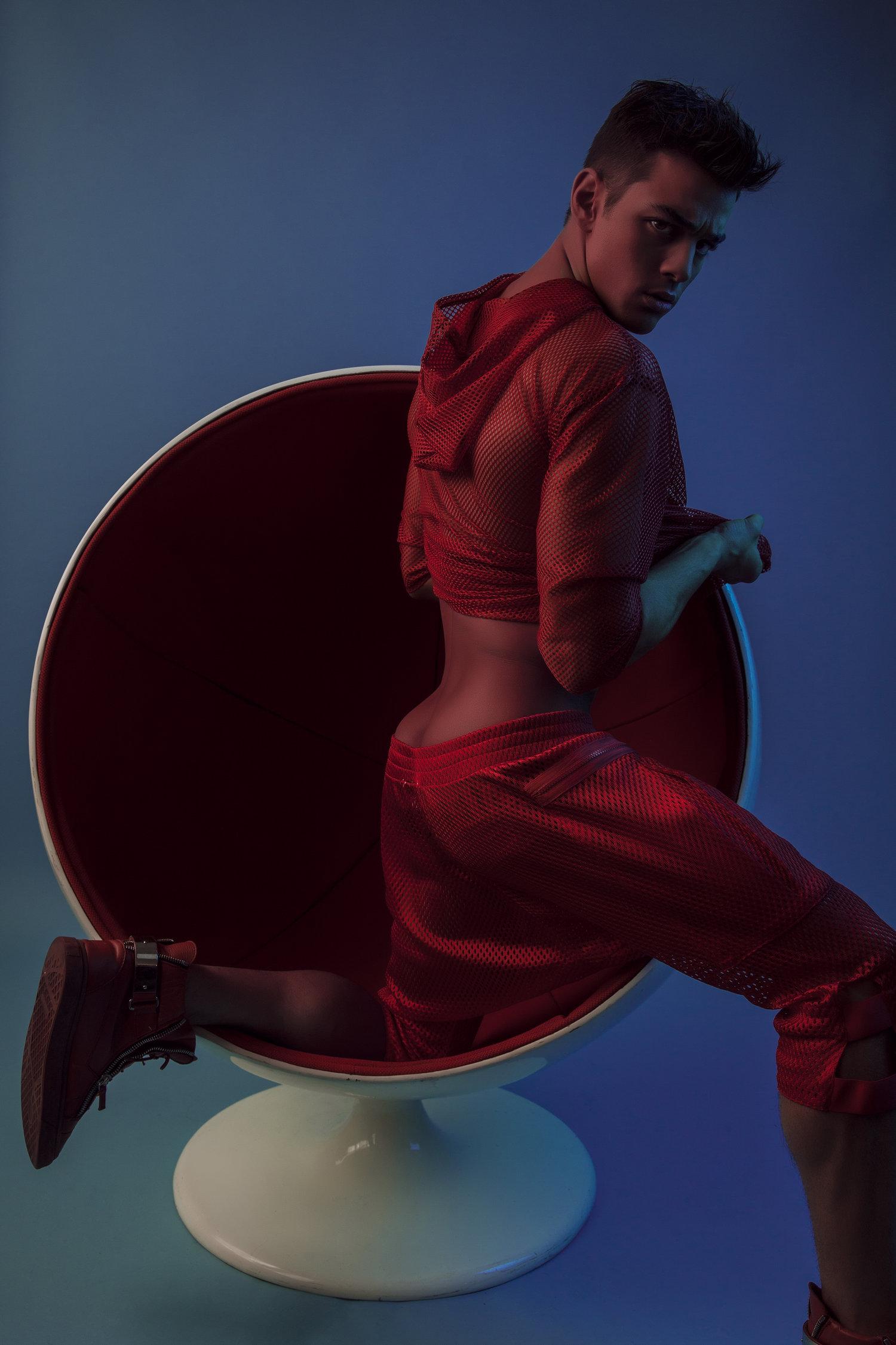 Adon Exclusive: Model Scott Gardner By Dalong Yang