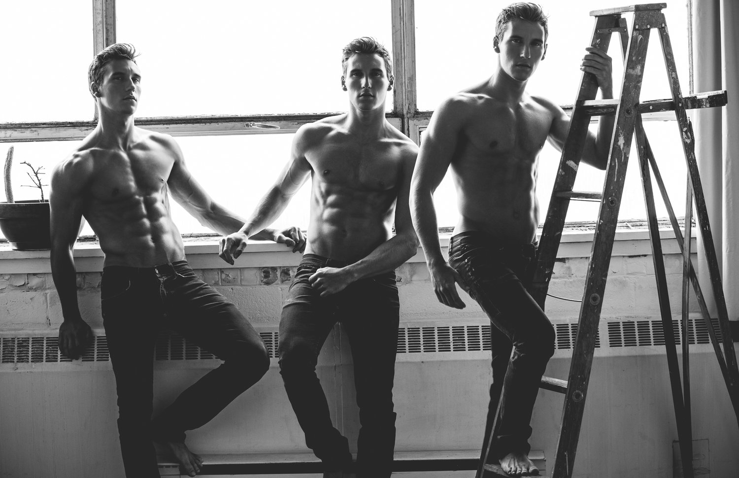 Adon Exclusive: Models Jimmy Carey and Joshua Mcartzy By Duane Isaac