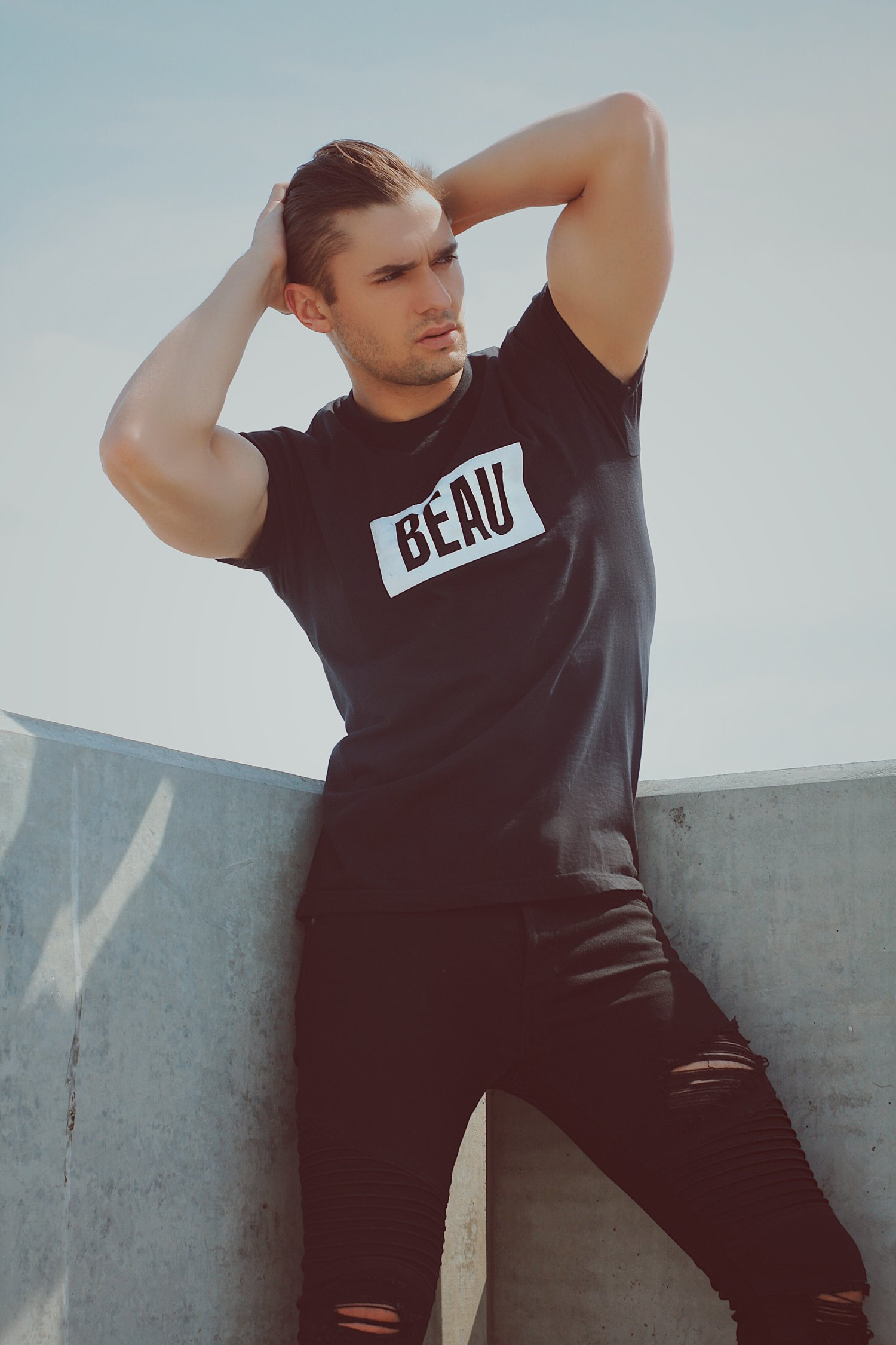 Adon Exclusive: Model Anthony Parker By Luis Lucas