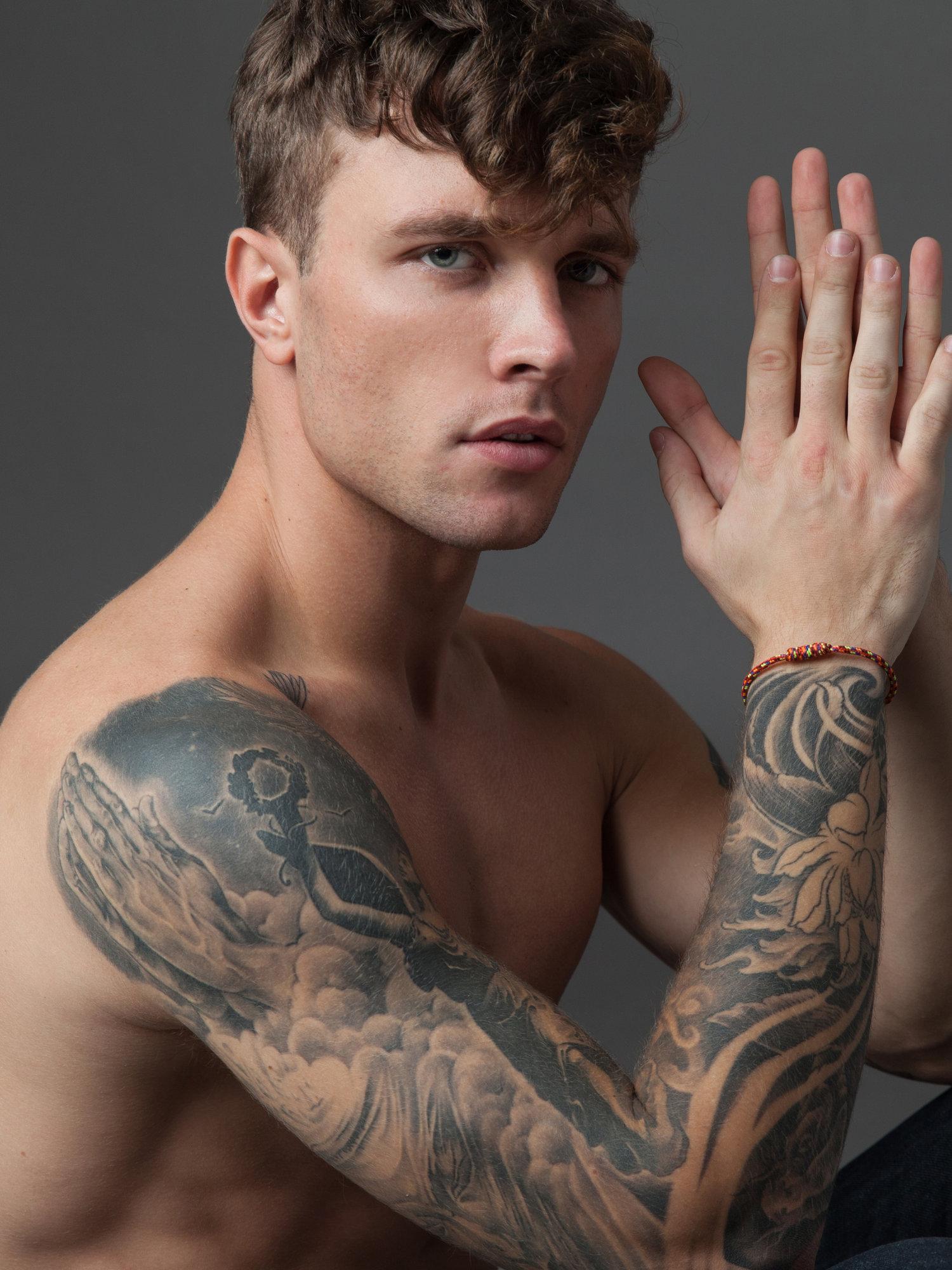 Adon Exclusive: Model Antoni Bialy By Valeria Selezneva