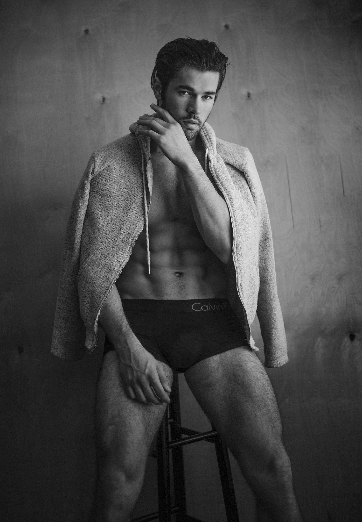 Adon Exclusive: Model Walter Derrig By Frank Mara