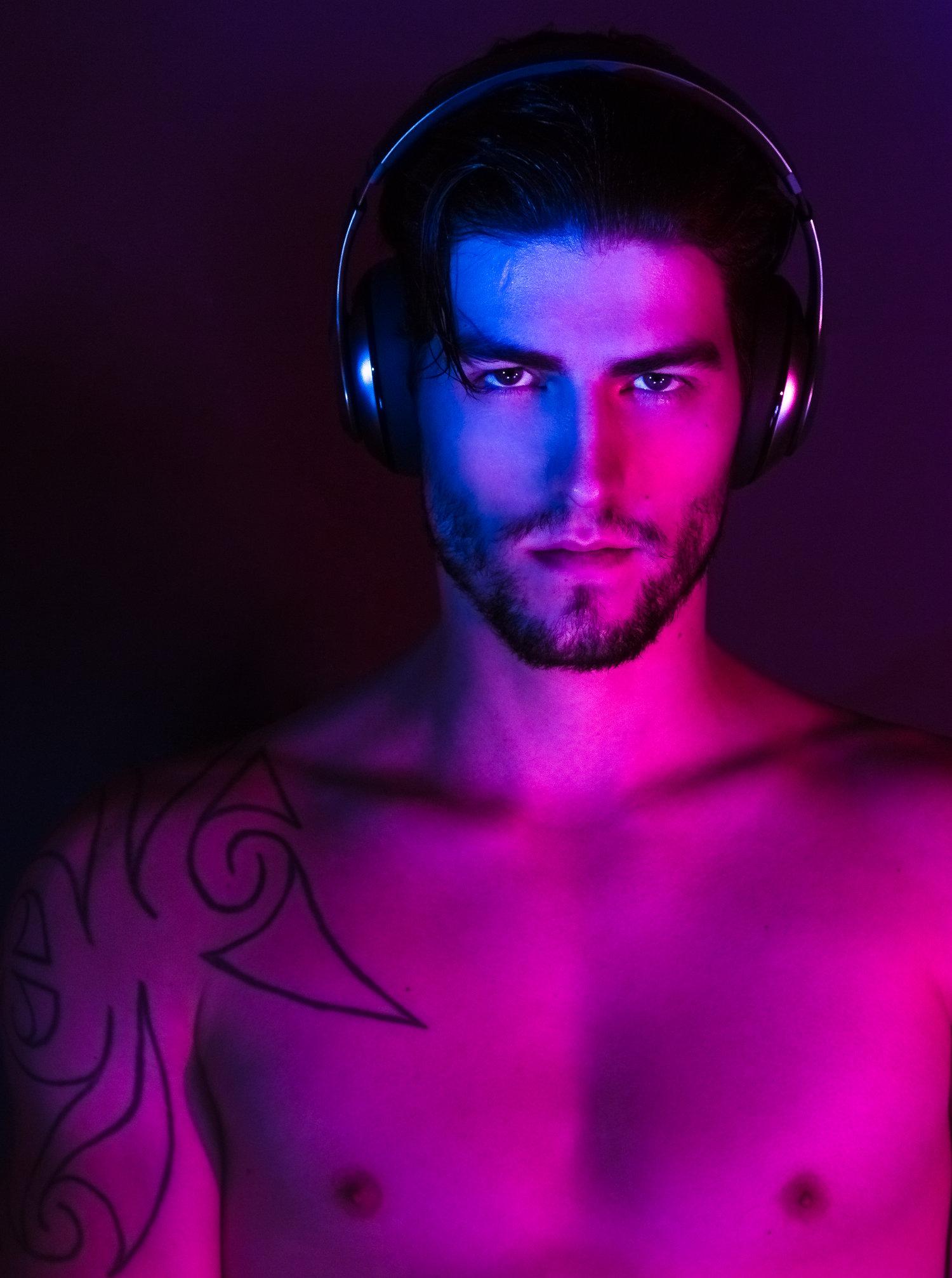 Adon Exclusive: Model Ben Furney By Alex Tupaz