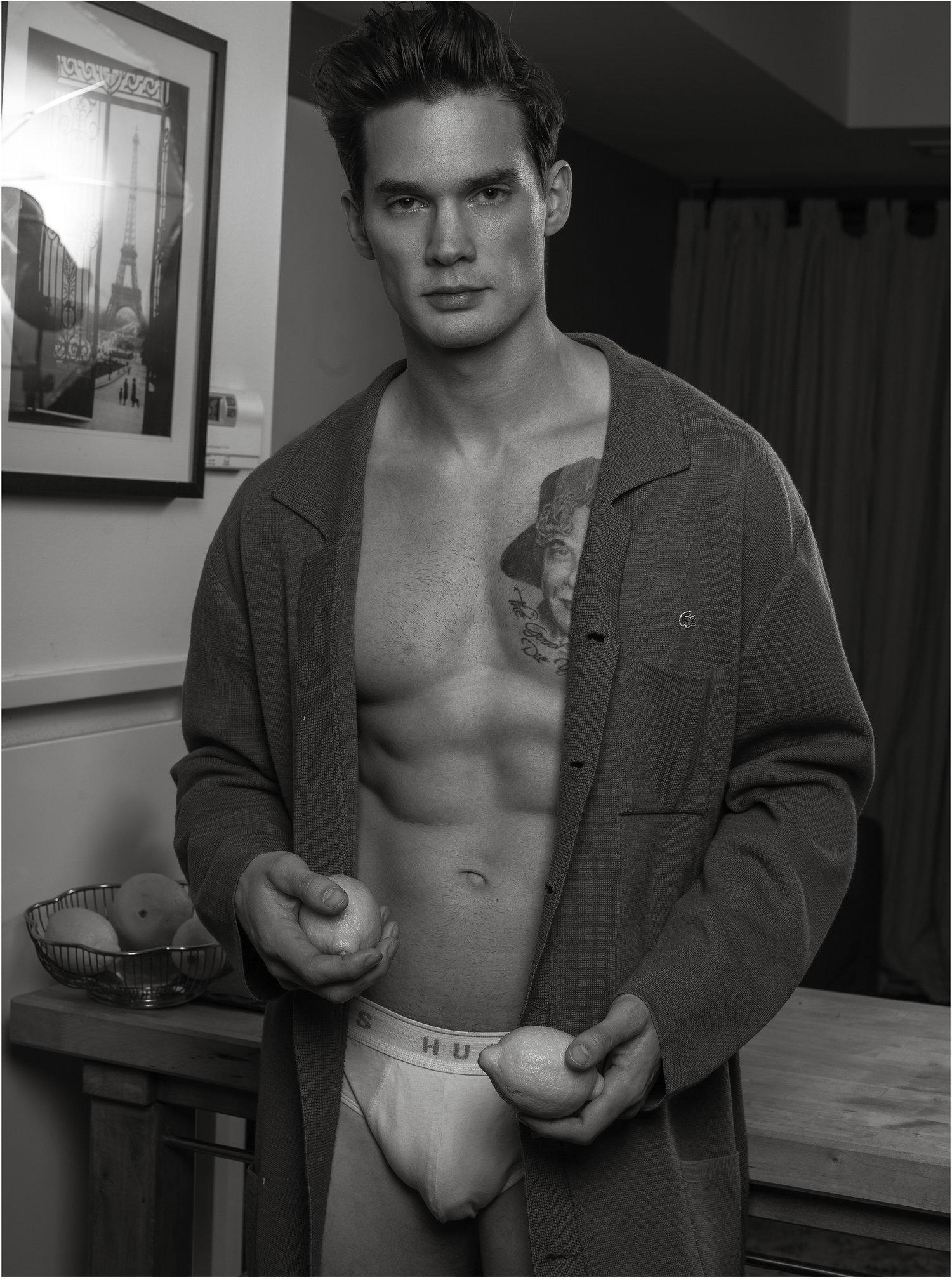 Adon Exclusive: Model Joey Kirchner By Hoang Josh