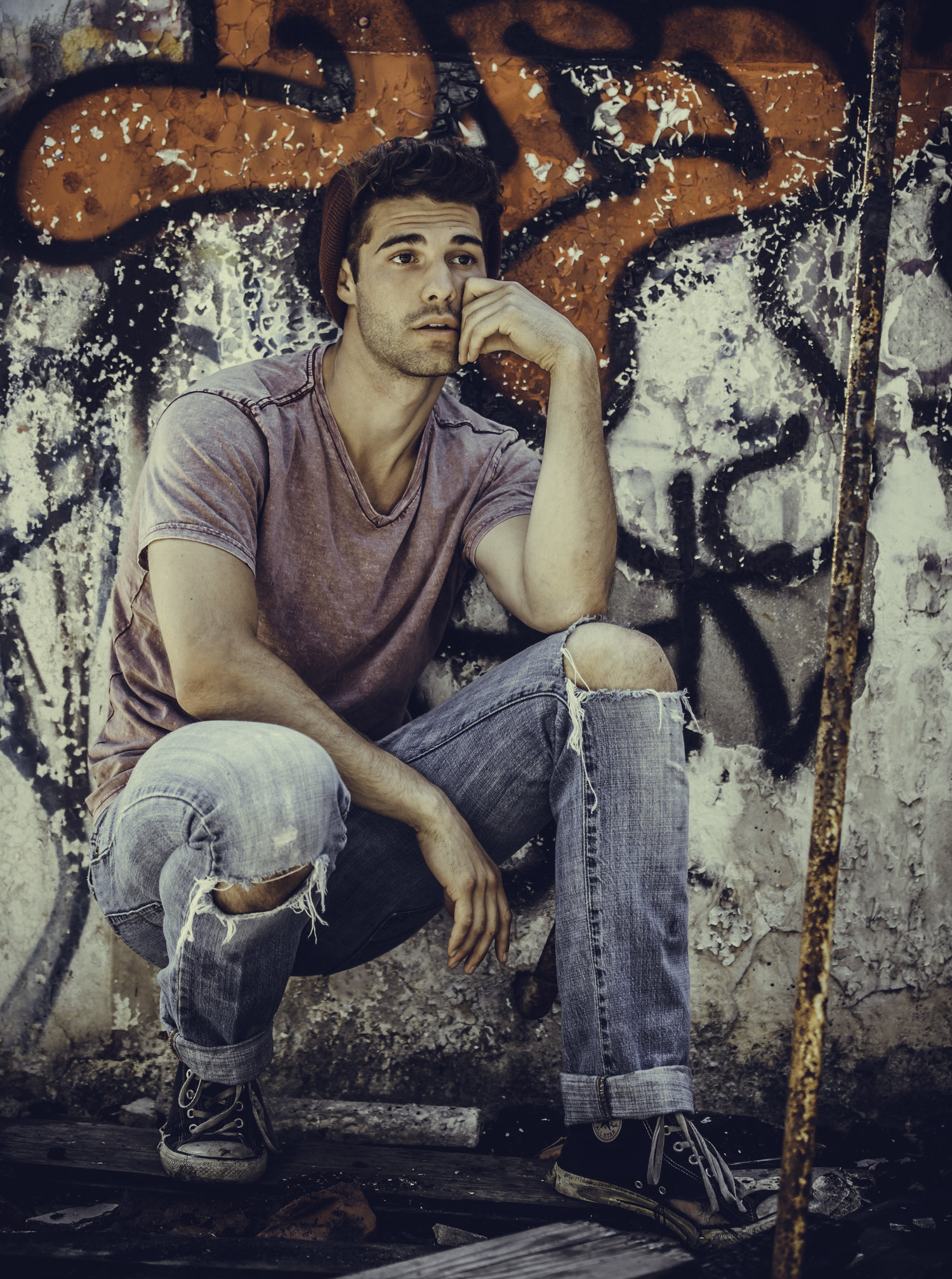 Adon Exclusive: Model Andrew James Bliek  By Rey Romero