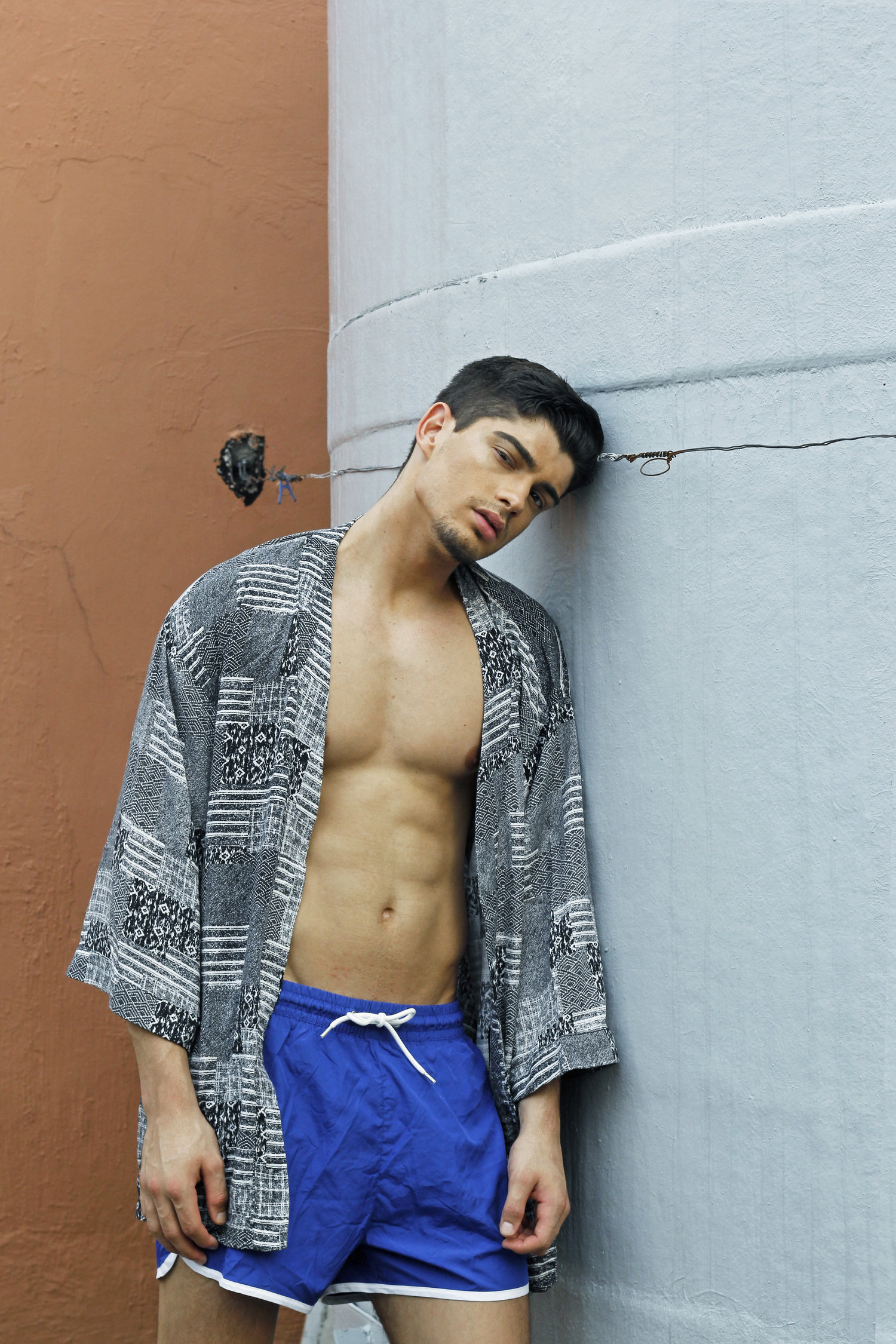 Adon Exclusive: Model Cezar Augusto By Rob Leocario