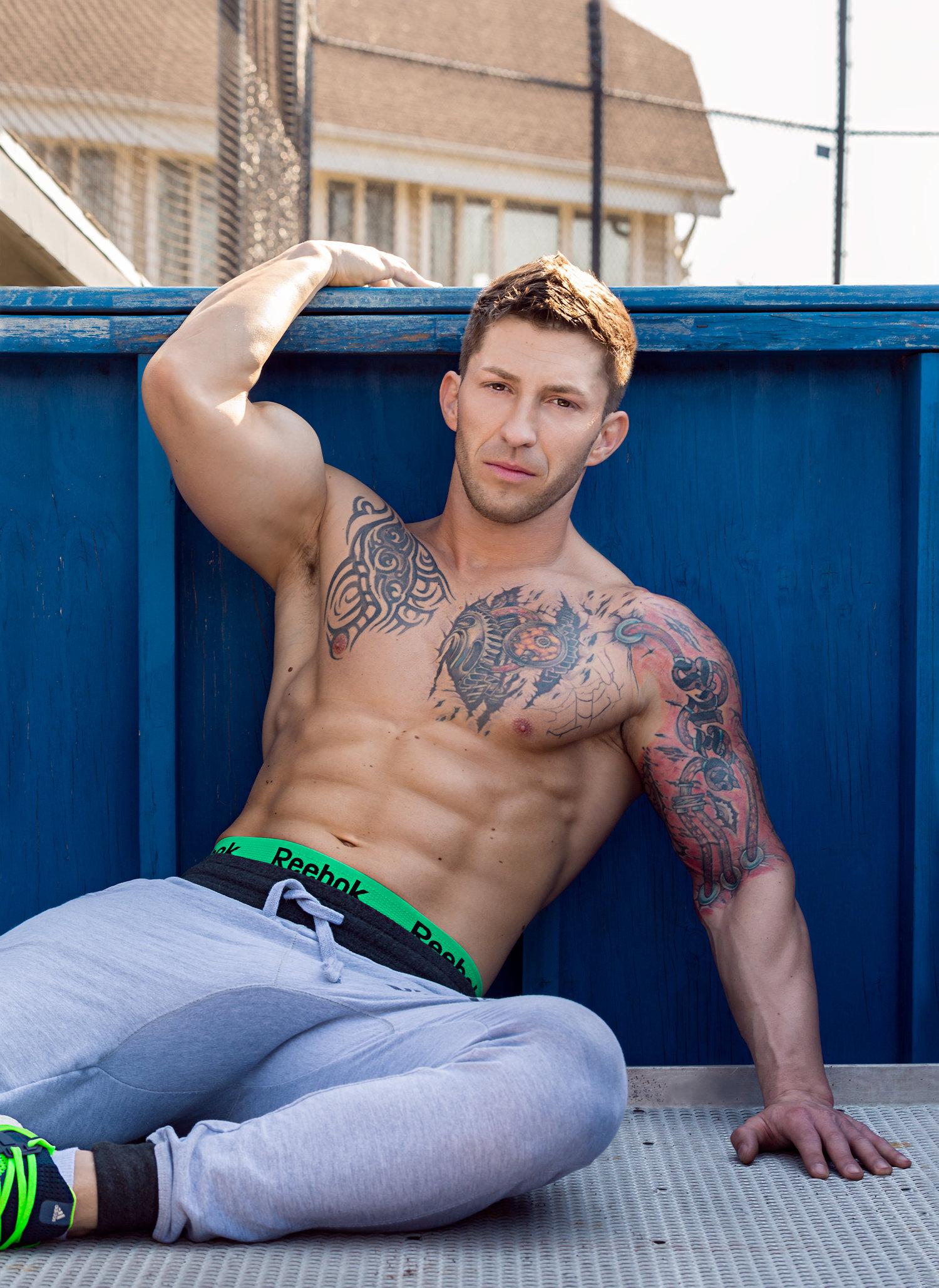 Adon Exclusive: Model Igor Celzner By Nico Gonzalez