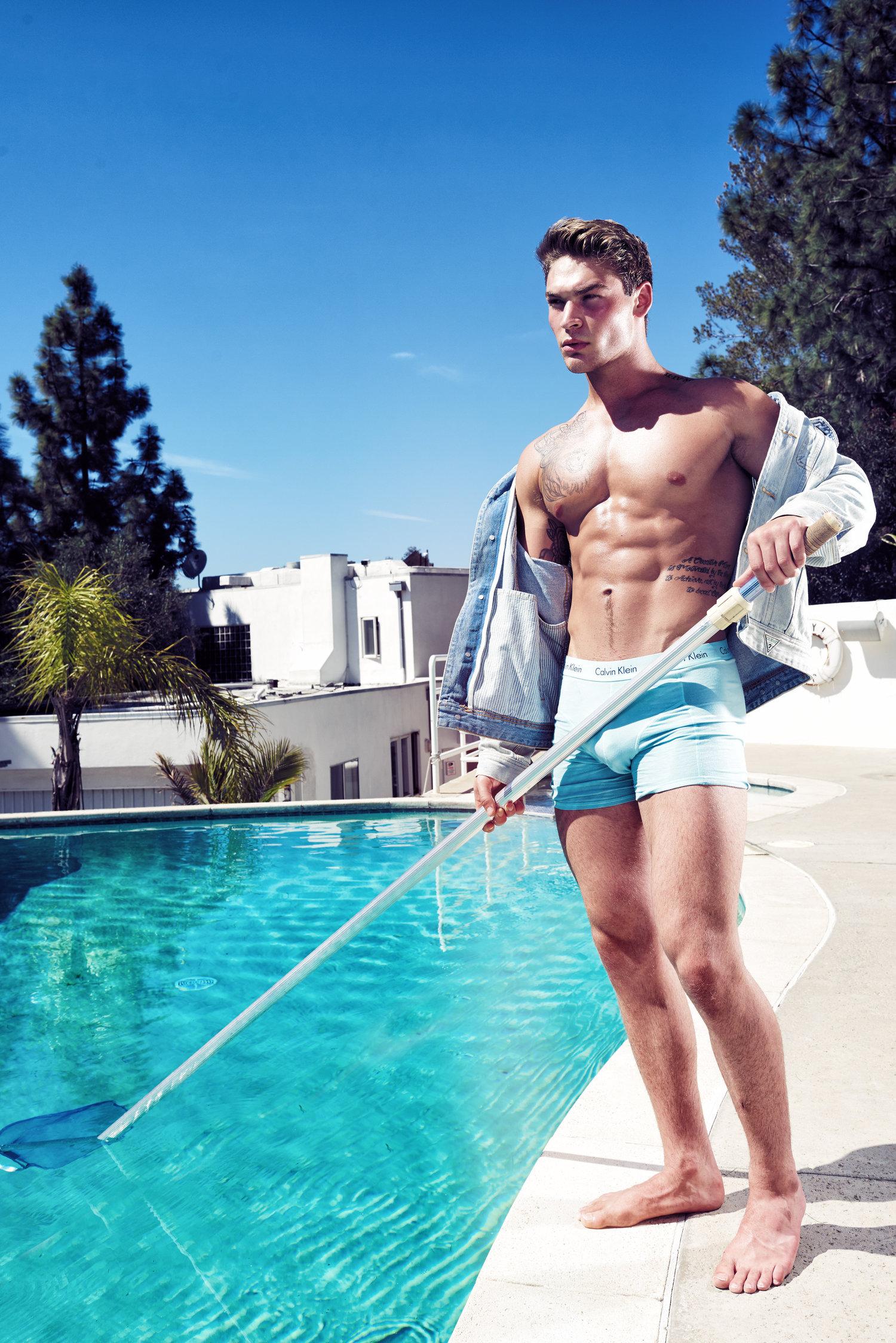 Adon Exclusive: Model Dominic Derosa By Alfred Liebl