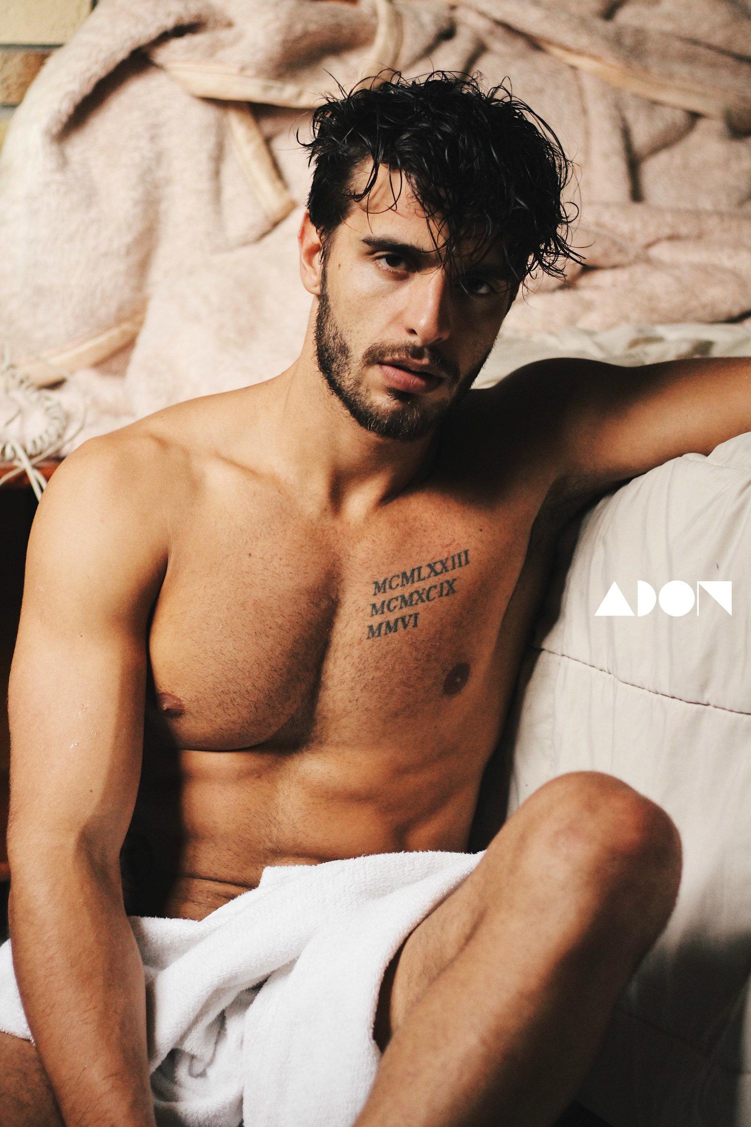 Adon Exclusive: Model Leonardo Costa By Ton Gomes