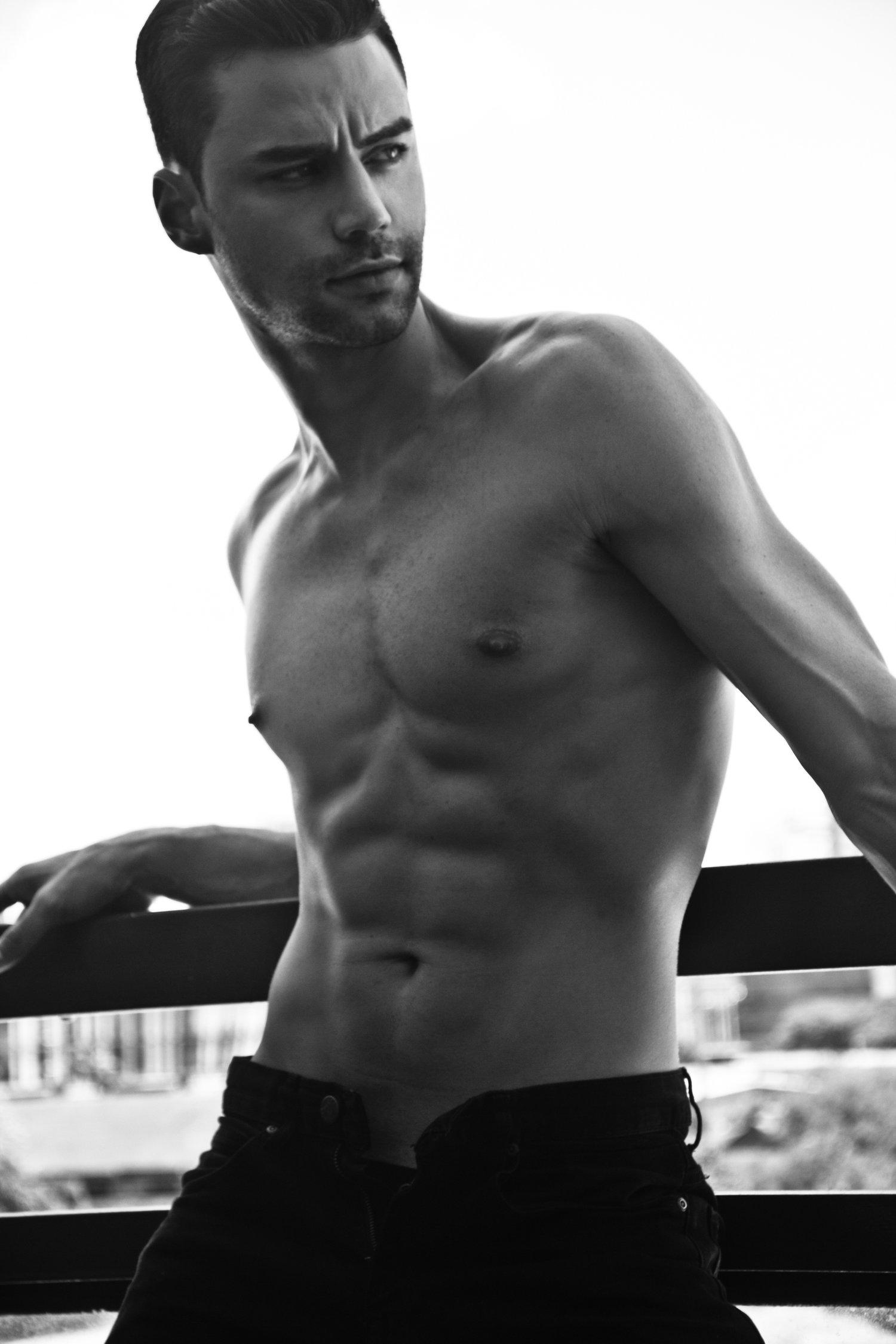 Adon Exclusive: Model Bruno Galli By Xram Ragde
