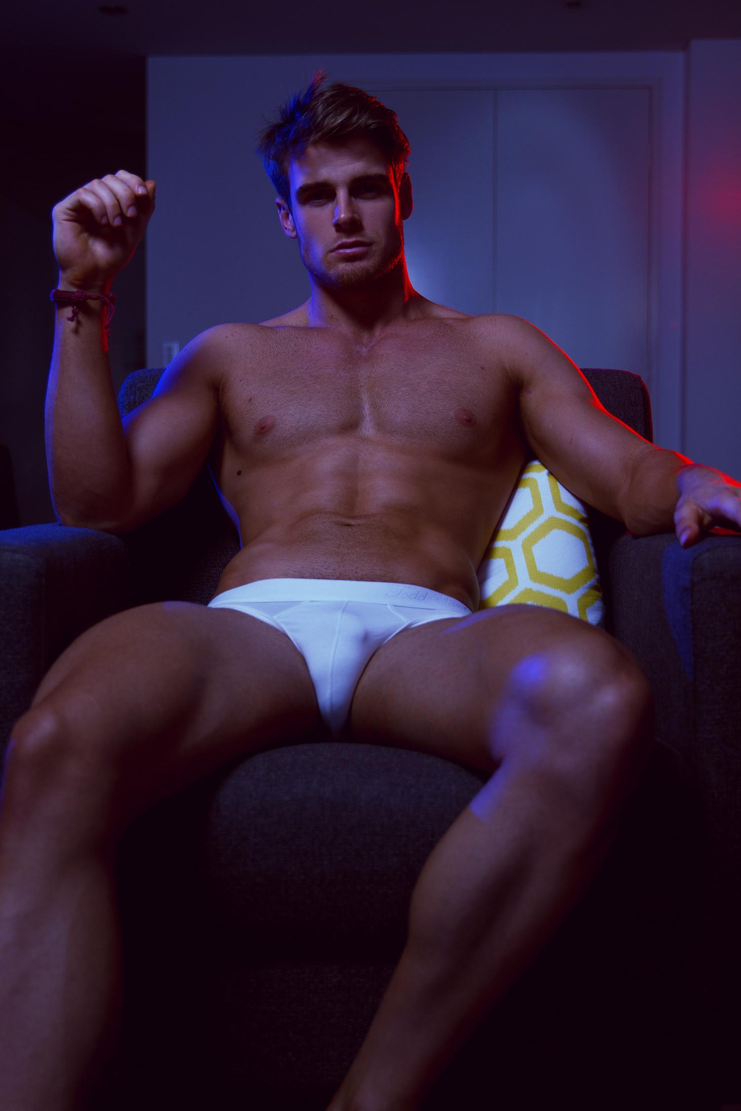 Adon Exclusive: Model Jack Taylor By Simon Le