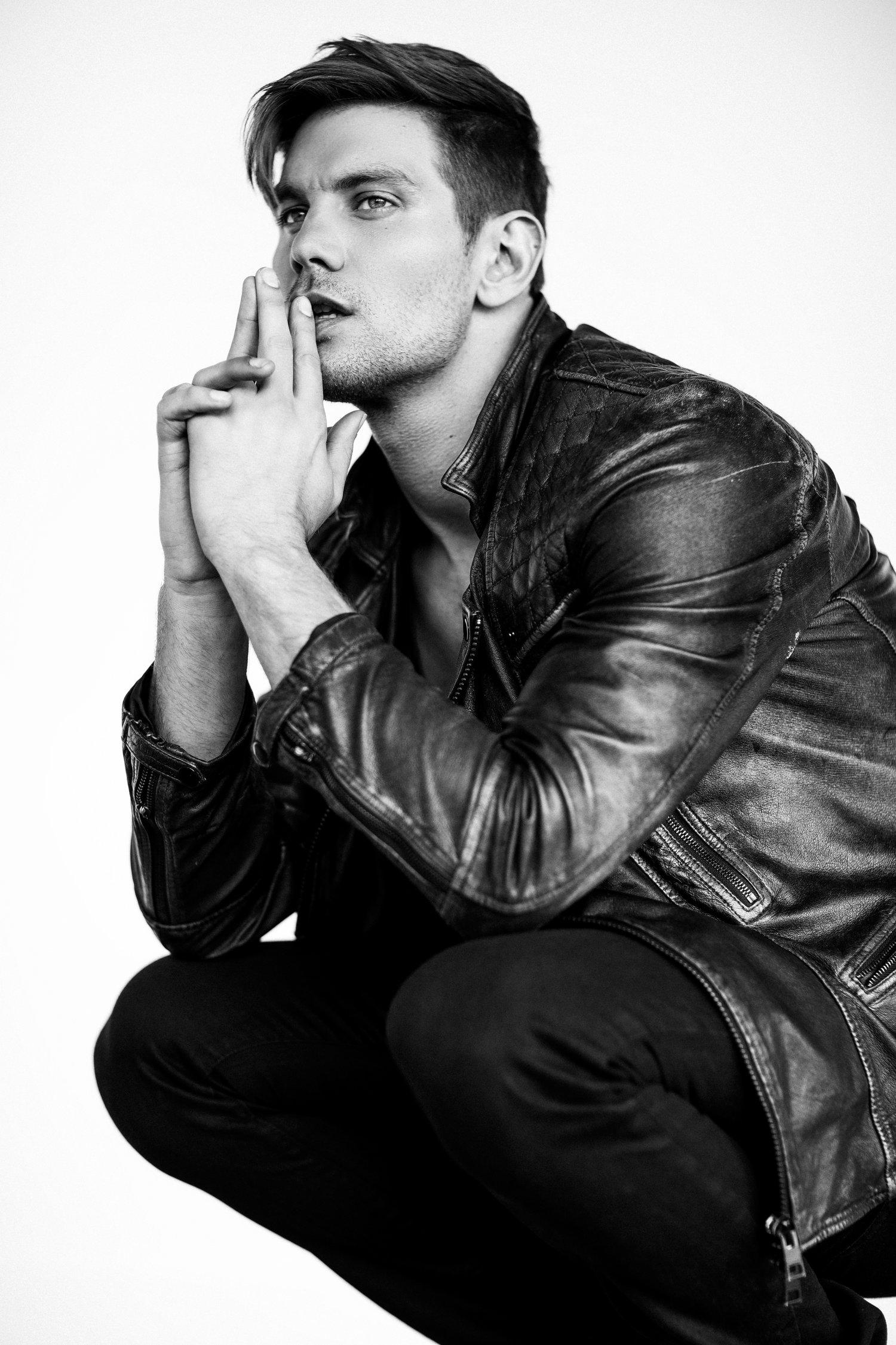 Adon Exclusive: Model Don Hood By Blake Ballard