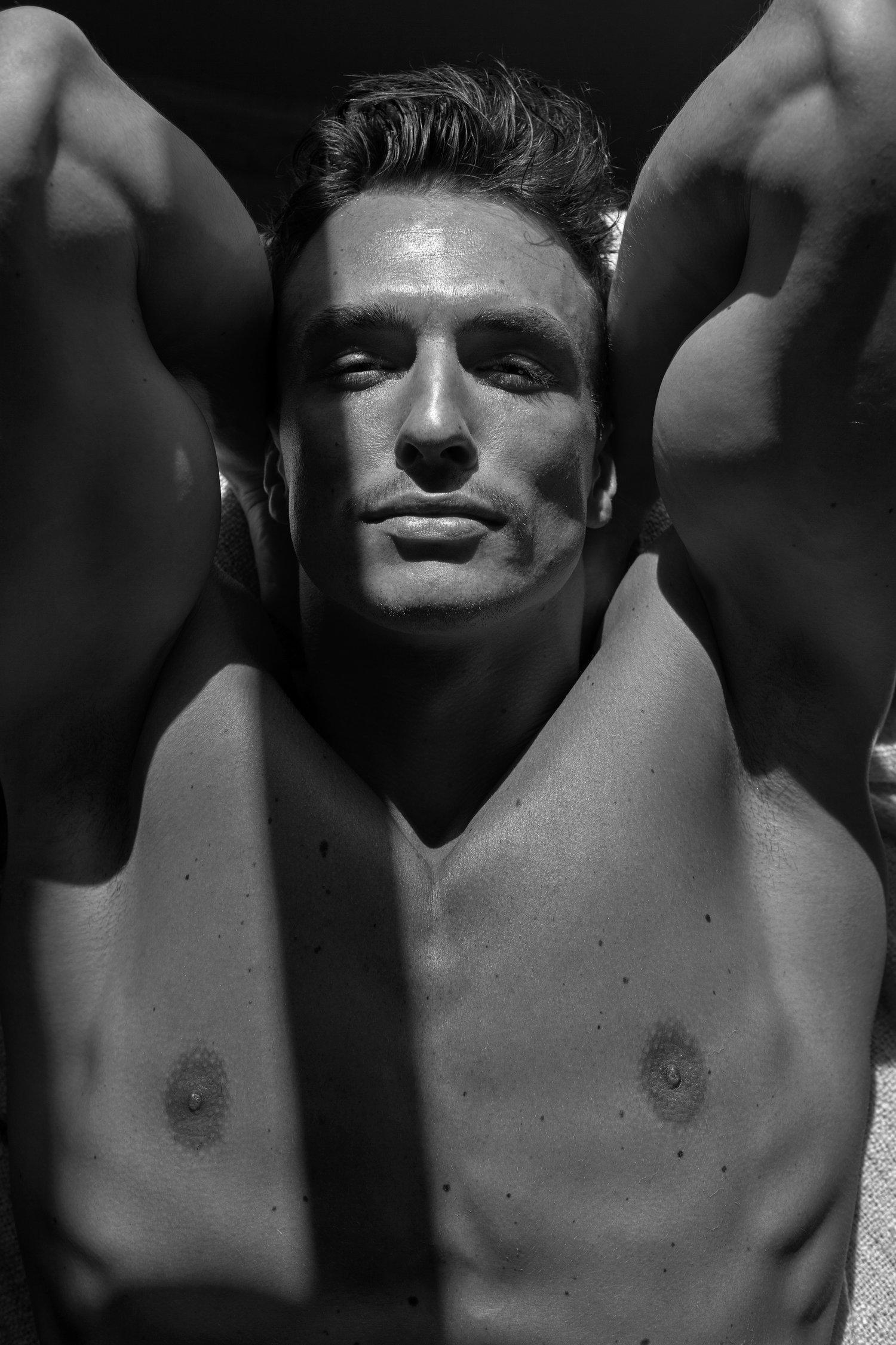 Adon Exclusive: Model Jack Masim Lane By Phil Nguyen