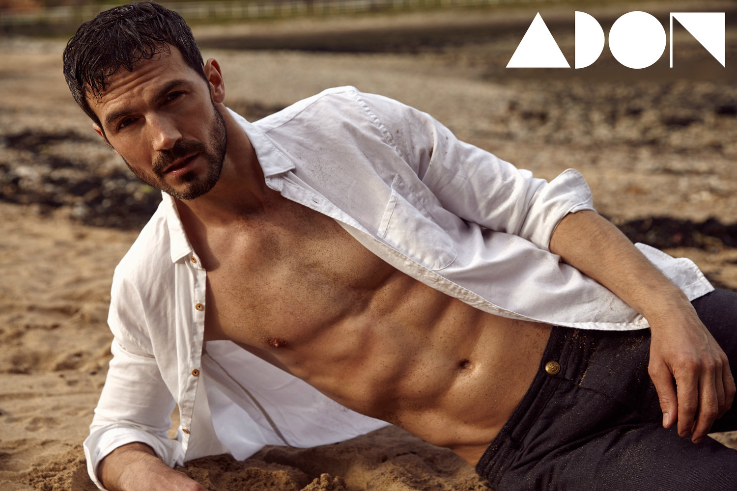 Adon Exclusive: Model Adam Cowie By Nic Jopek