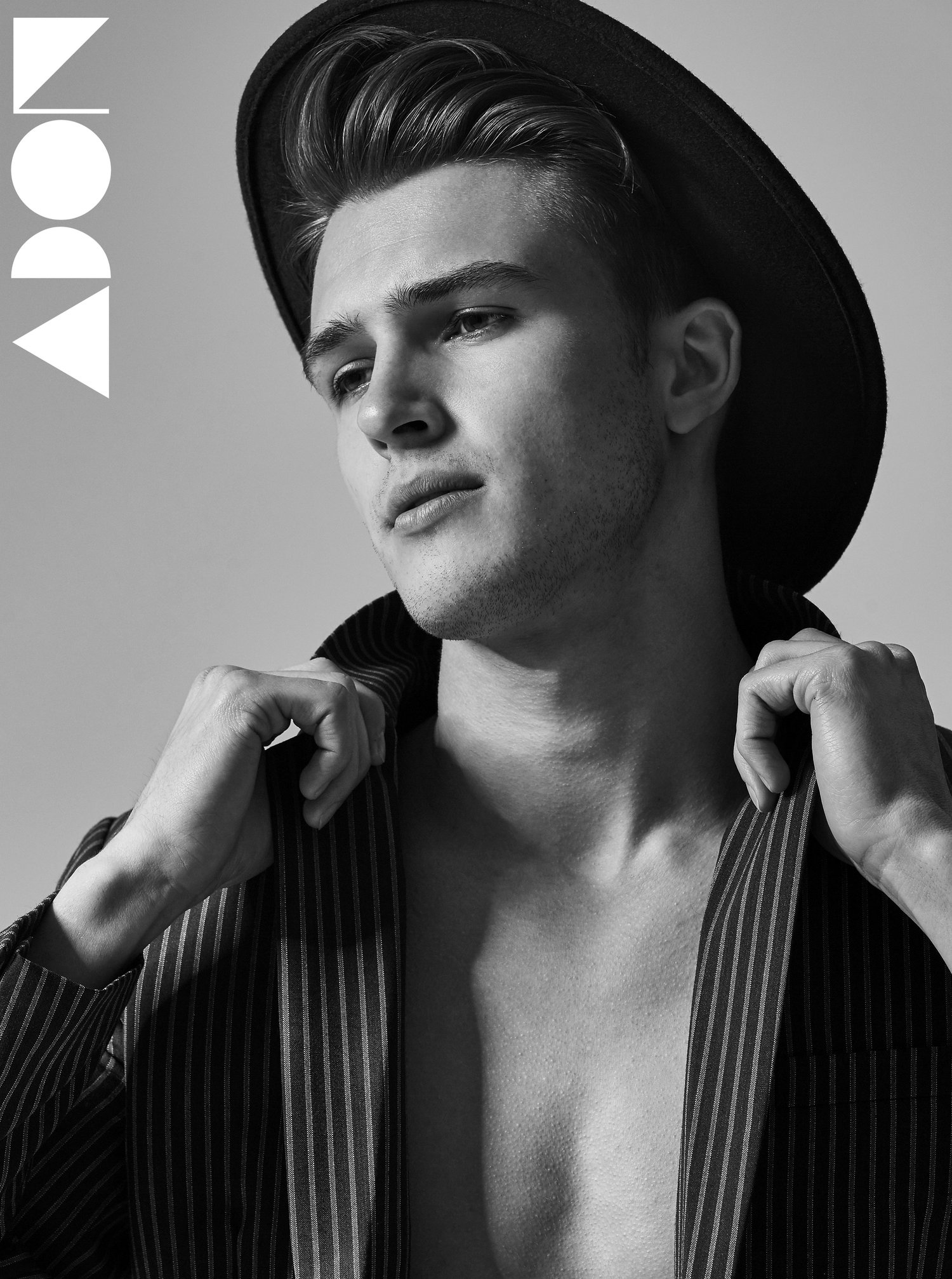Adon Exclusive: Models PHILIPP SRODA & NICLAS GONZALES By PAUL FITZGERALD
