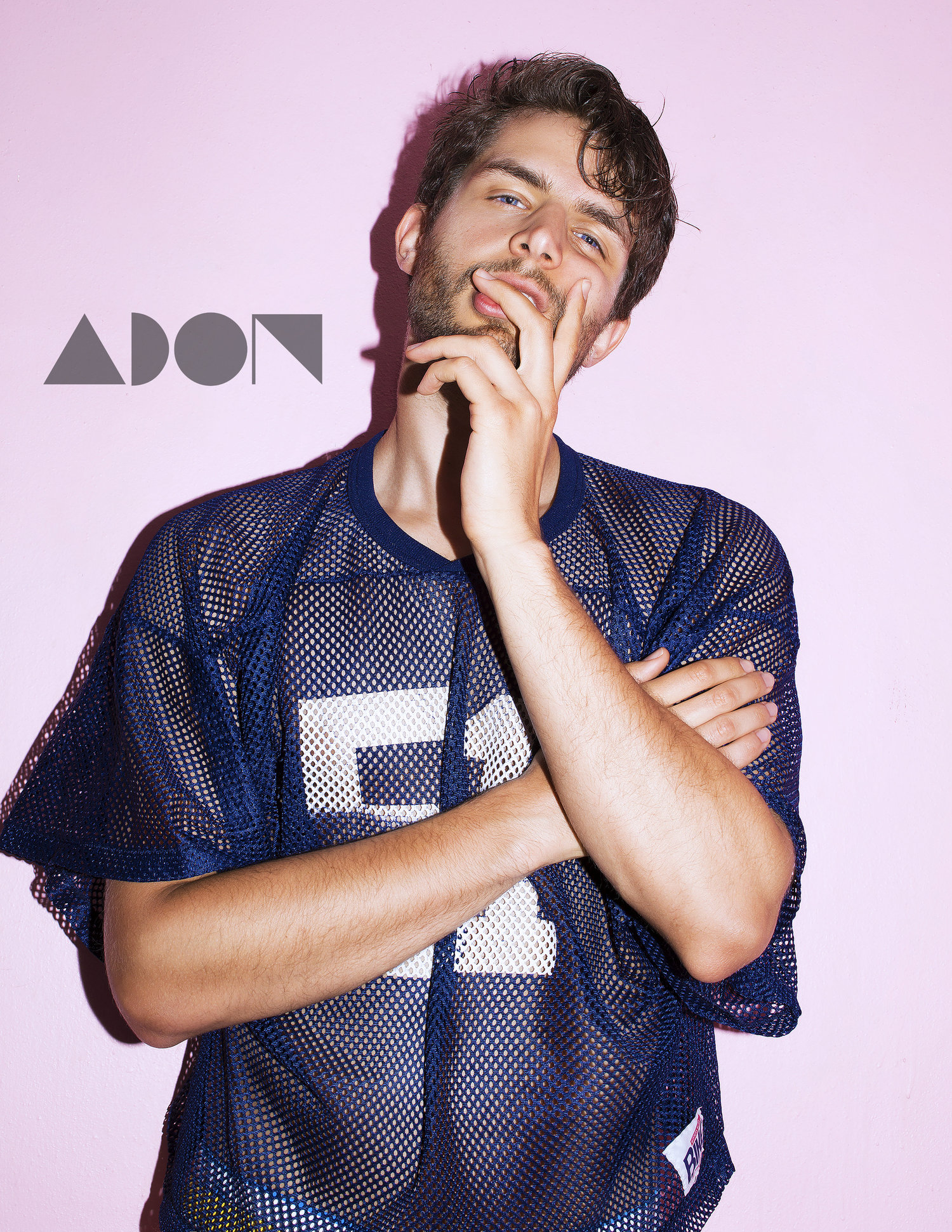 Adon Exclusive: Model David Richard By Alain Vasallo
