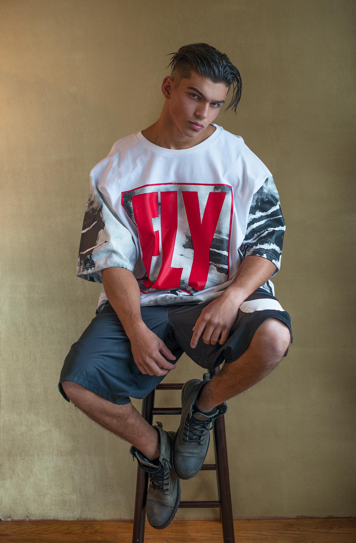 Adon Exclusive: Model Russell Milis By Frank Marando