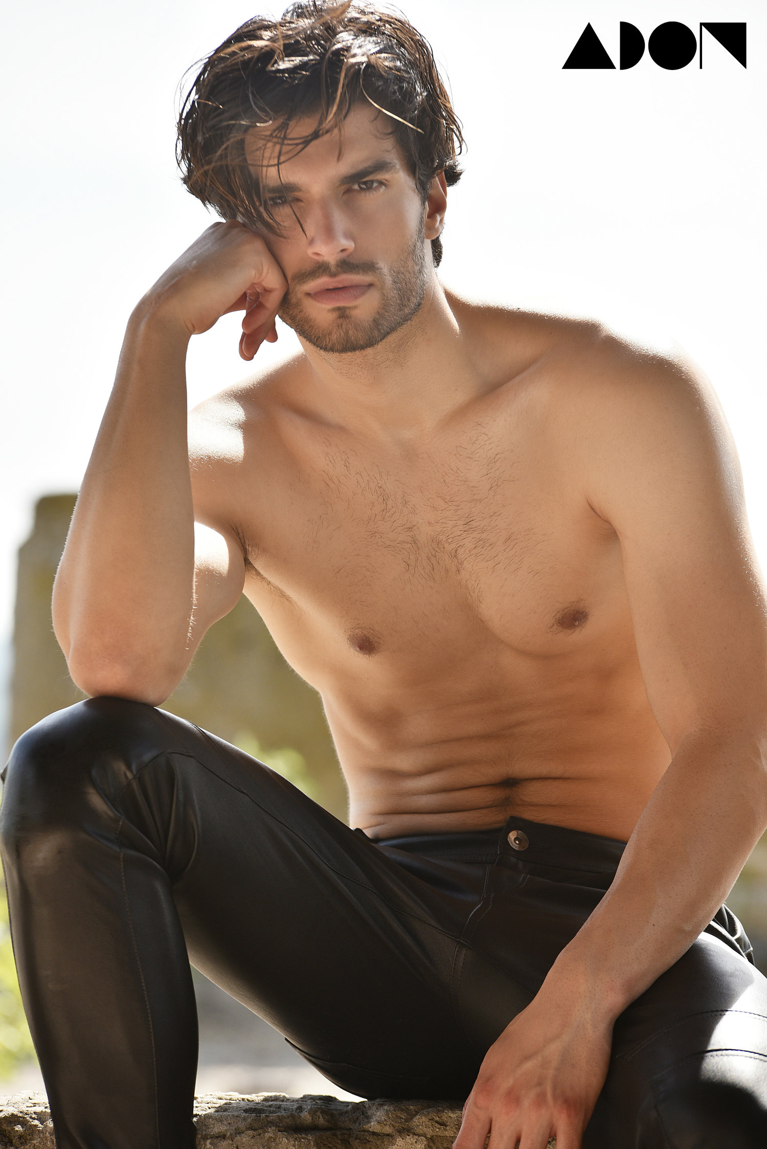 Adon Exclusive: Model Aleksa Gavrilović By Mladen Blagojevic