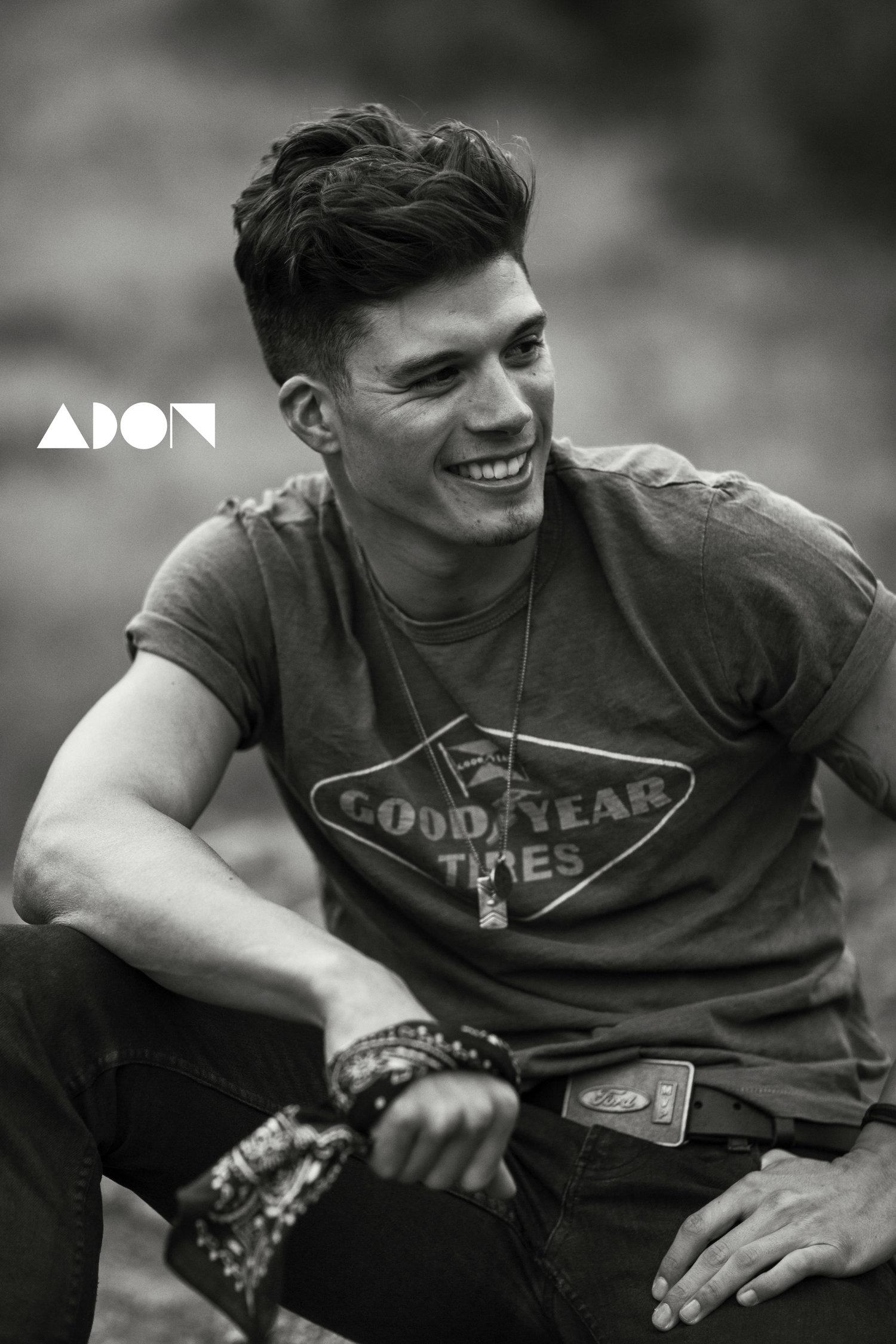 Adon Exclusive: Model Joe Martinez By Andrew Parsons