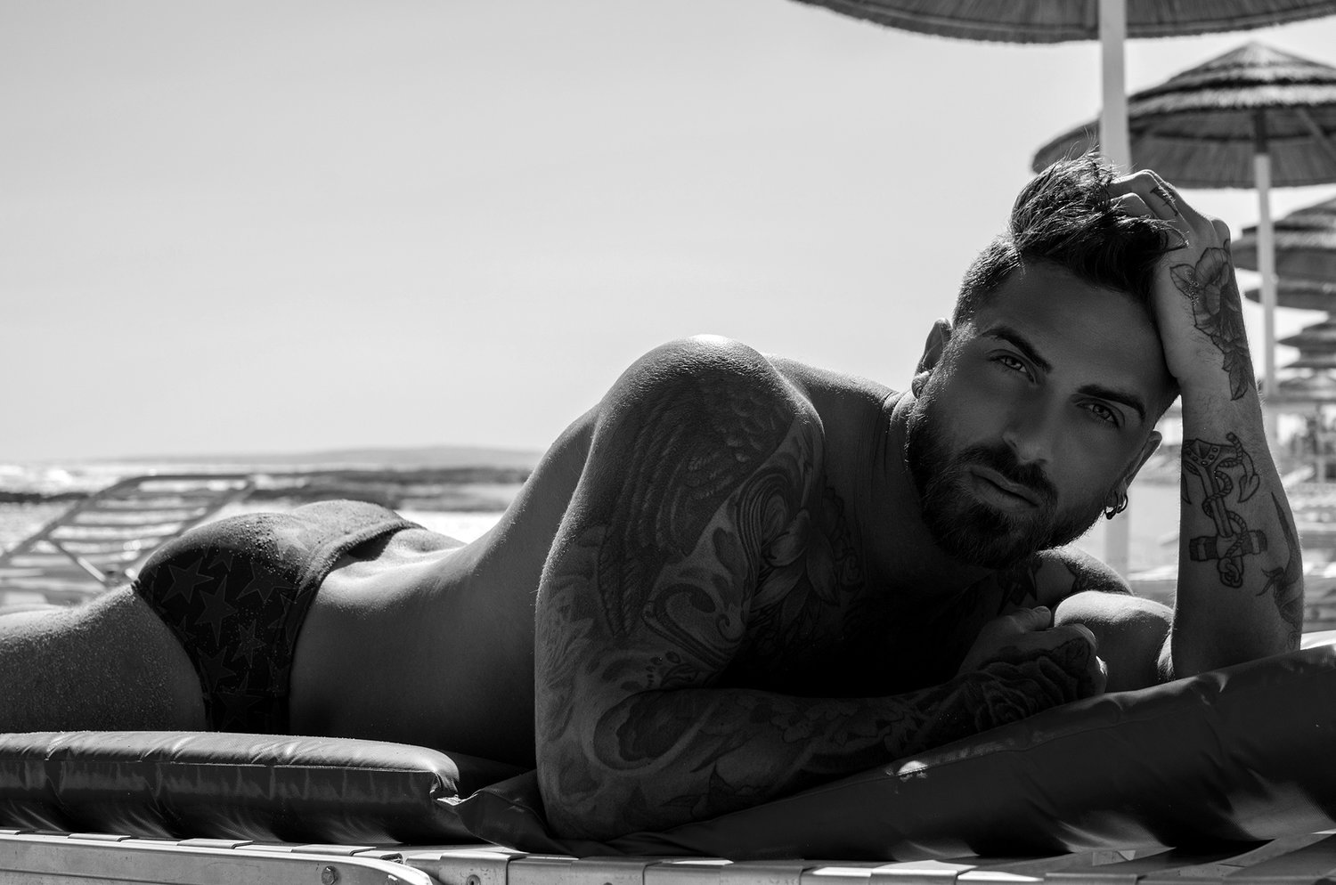 Adon Exclusive: Model Doros Panayides By Stavros Christodoulou