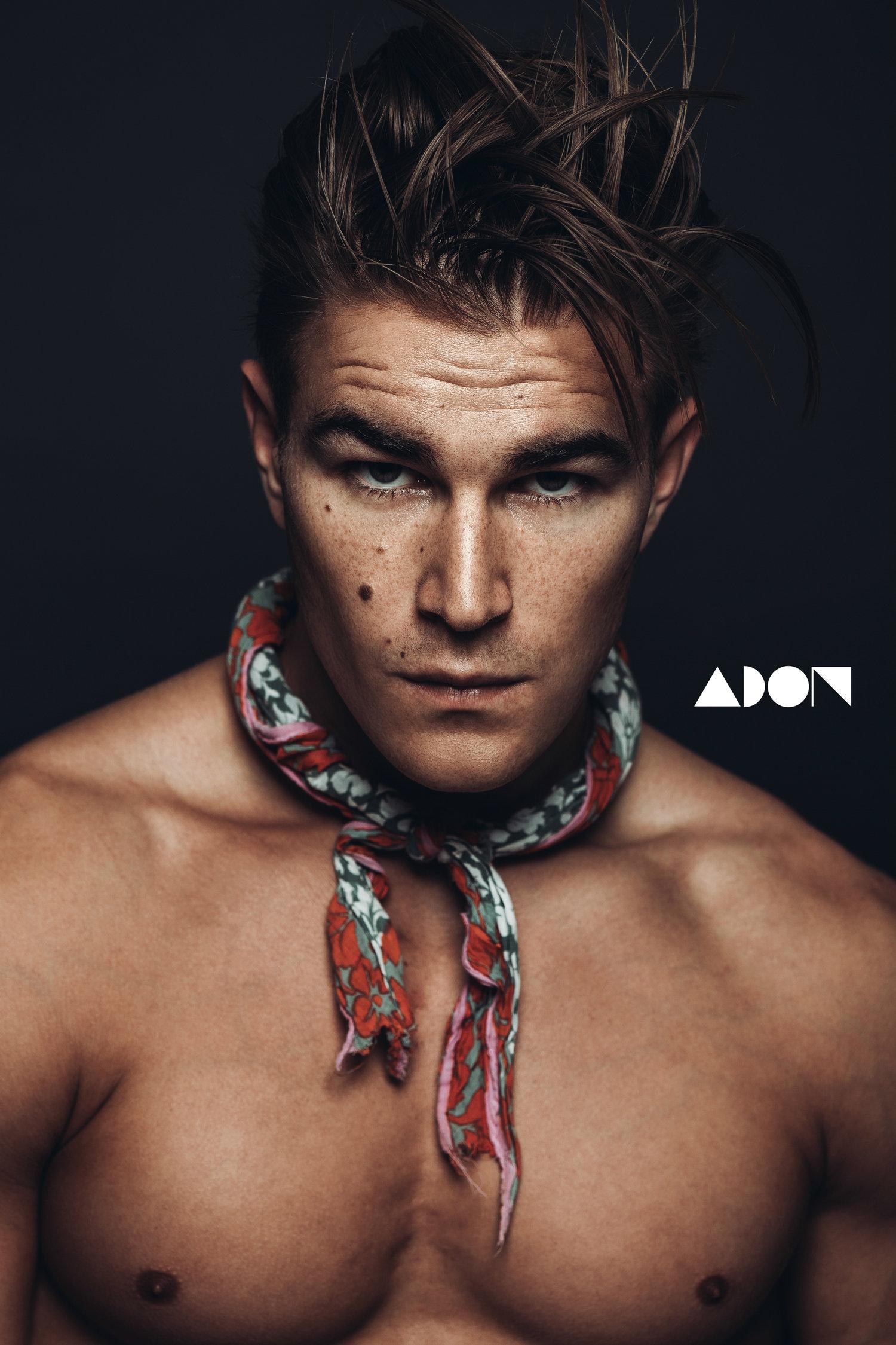 Adon Exclusive: Model Anton Engel By Ivan Avila