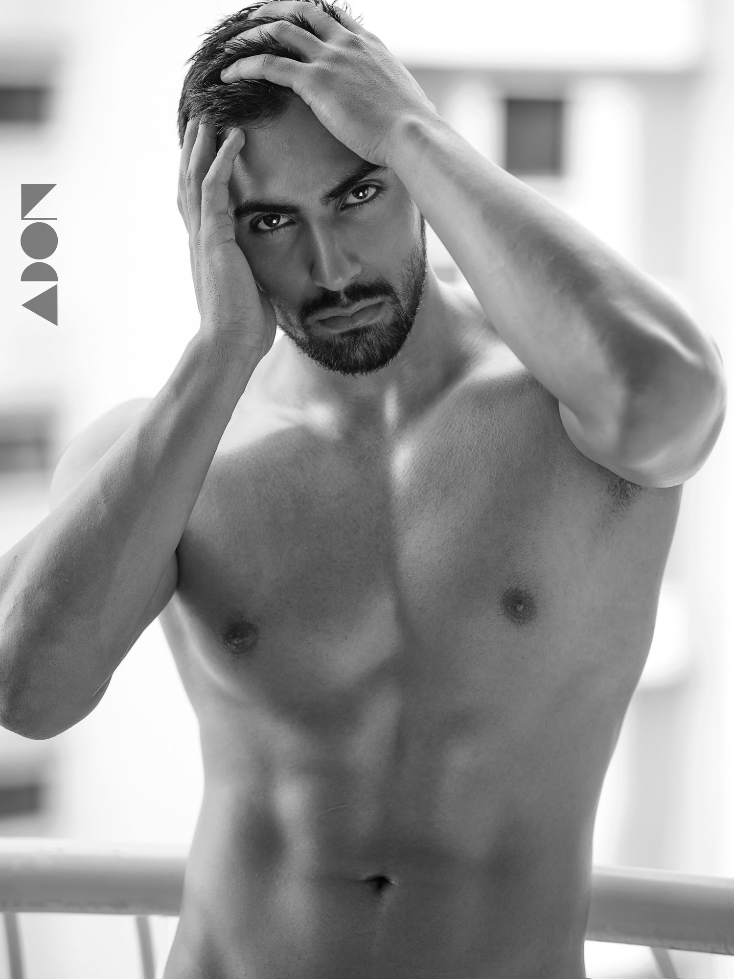 Adon Exclusive: Model Mosi Bouri By Jason Oung