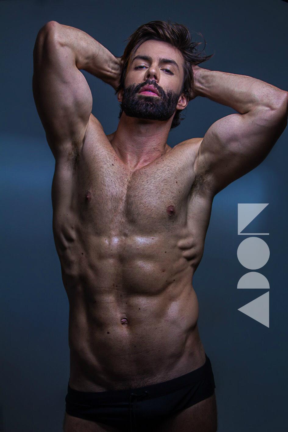 Adon Exclusive: Model  Guilherme Acrizio By Sergio Baia