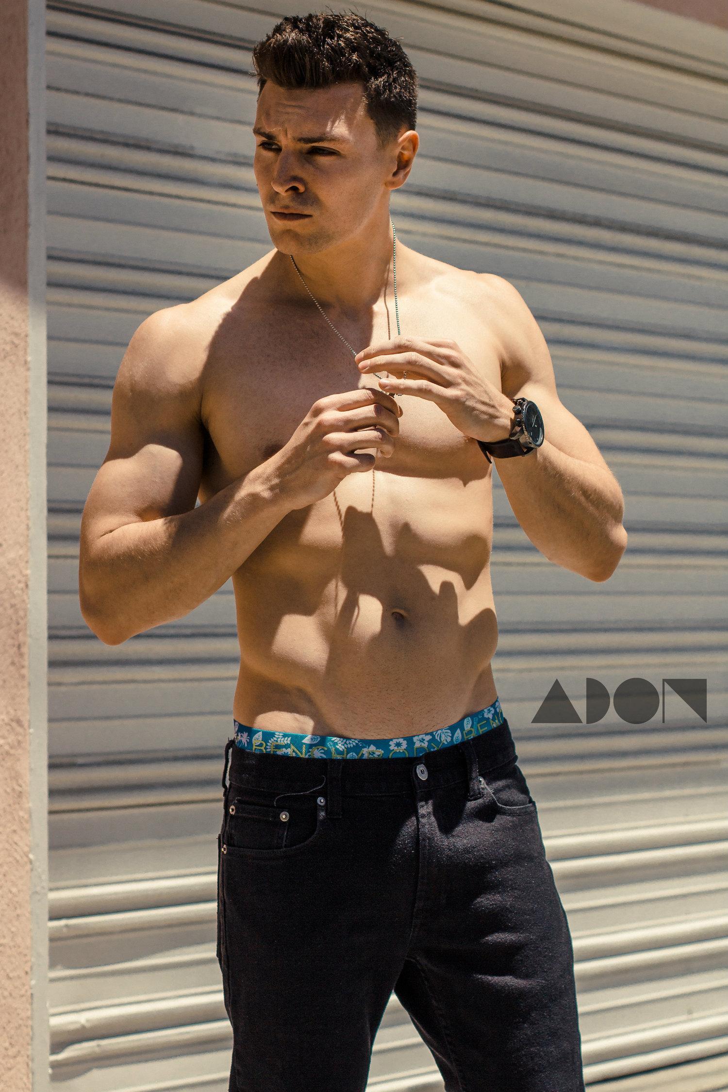 Adon Exclusive: Model John Warburton By Lester Villarama