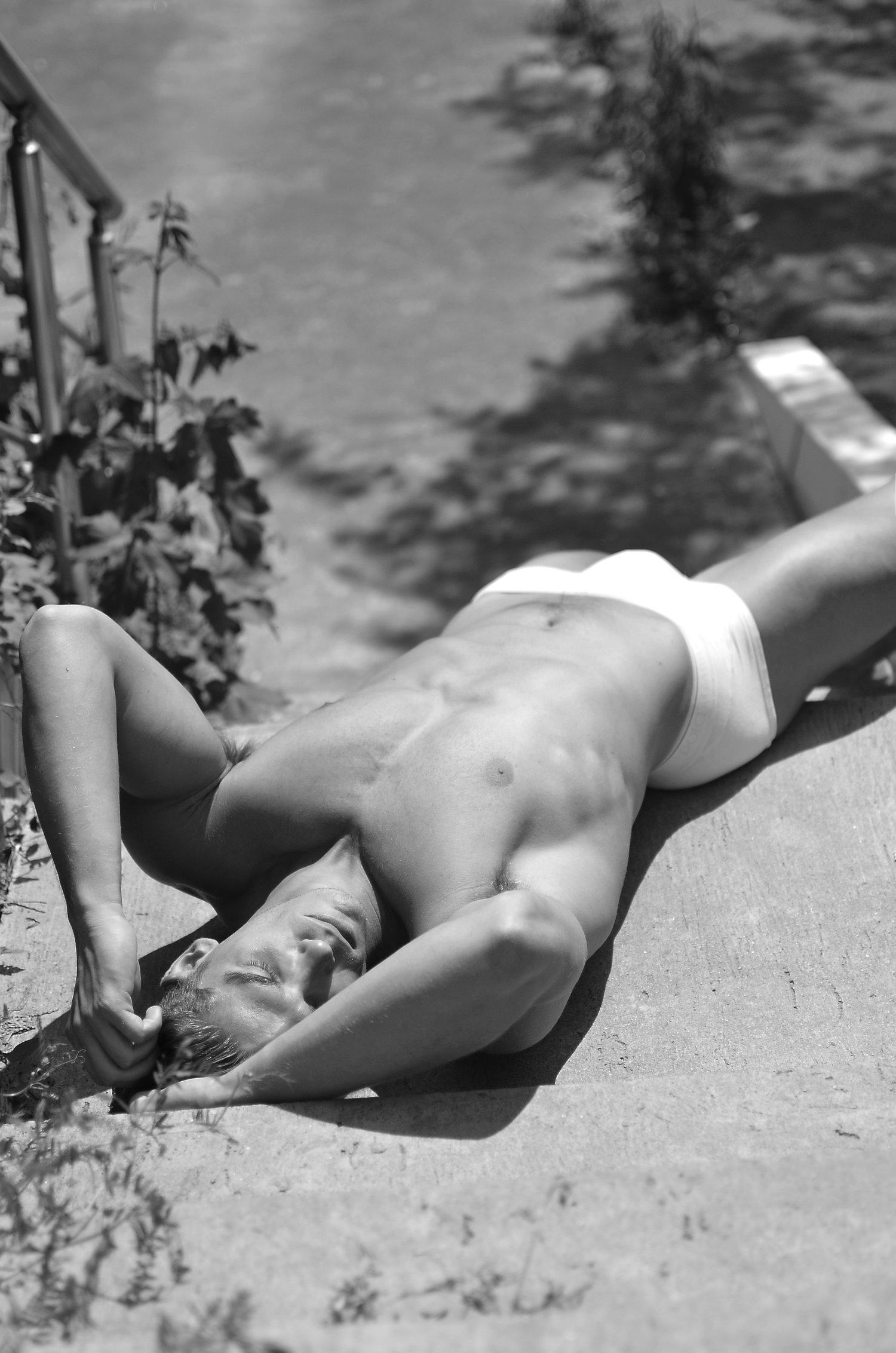 Adon Exclusive: Model Dimitrije Bluegray By Srdjan Sveljo