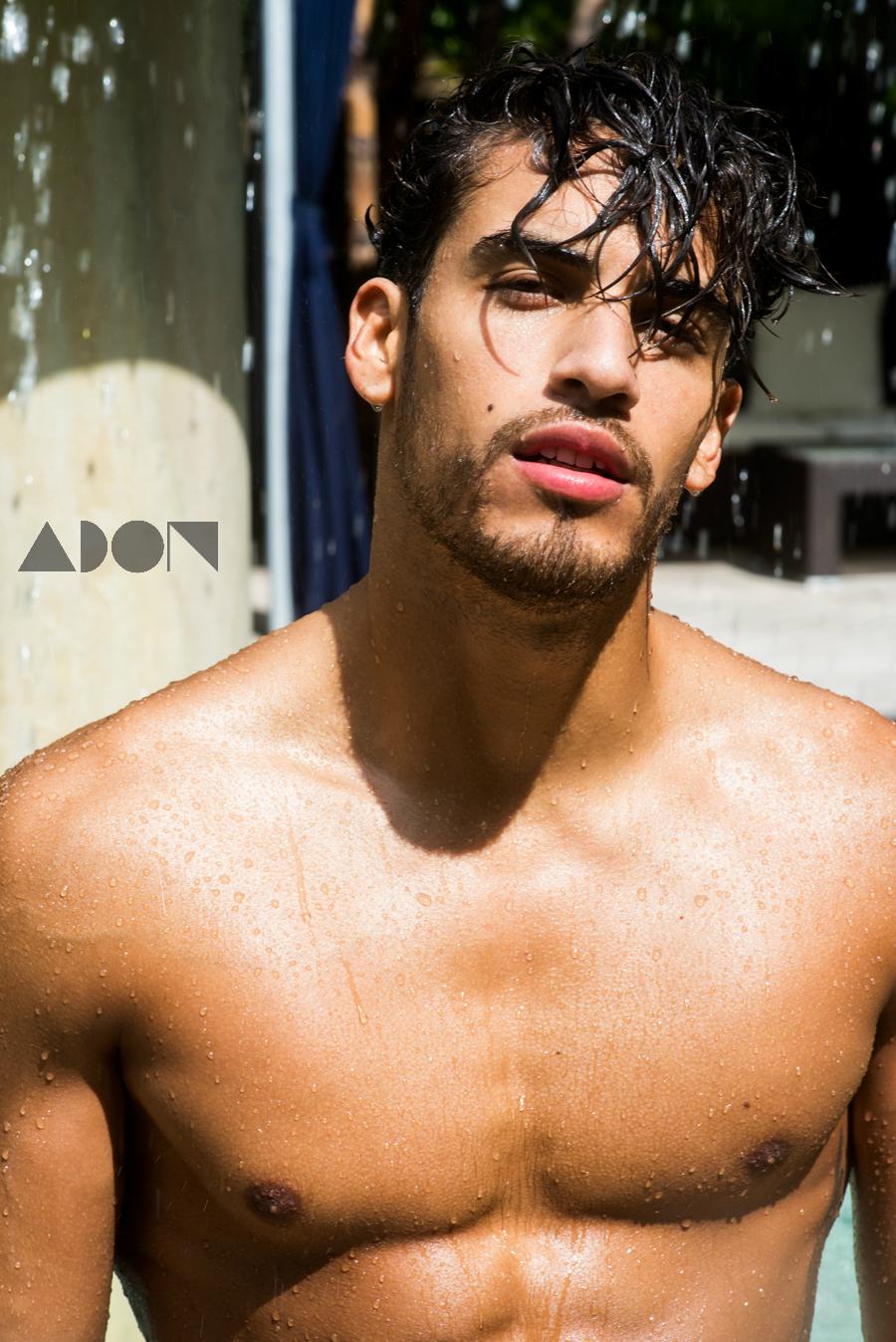 Adon Exclusive: Model Jon Durand By Frank Louis