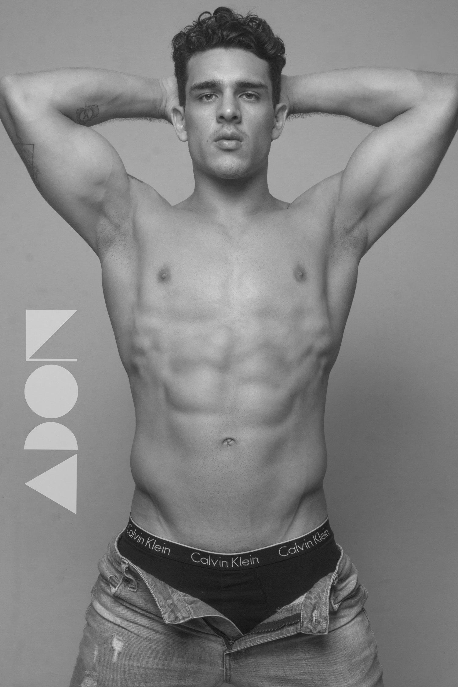 Adon Exclusive: Model Kenneth Chacón By Yeu Sánchez Valereu
