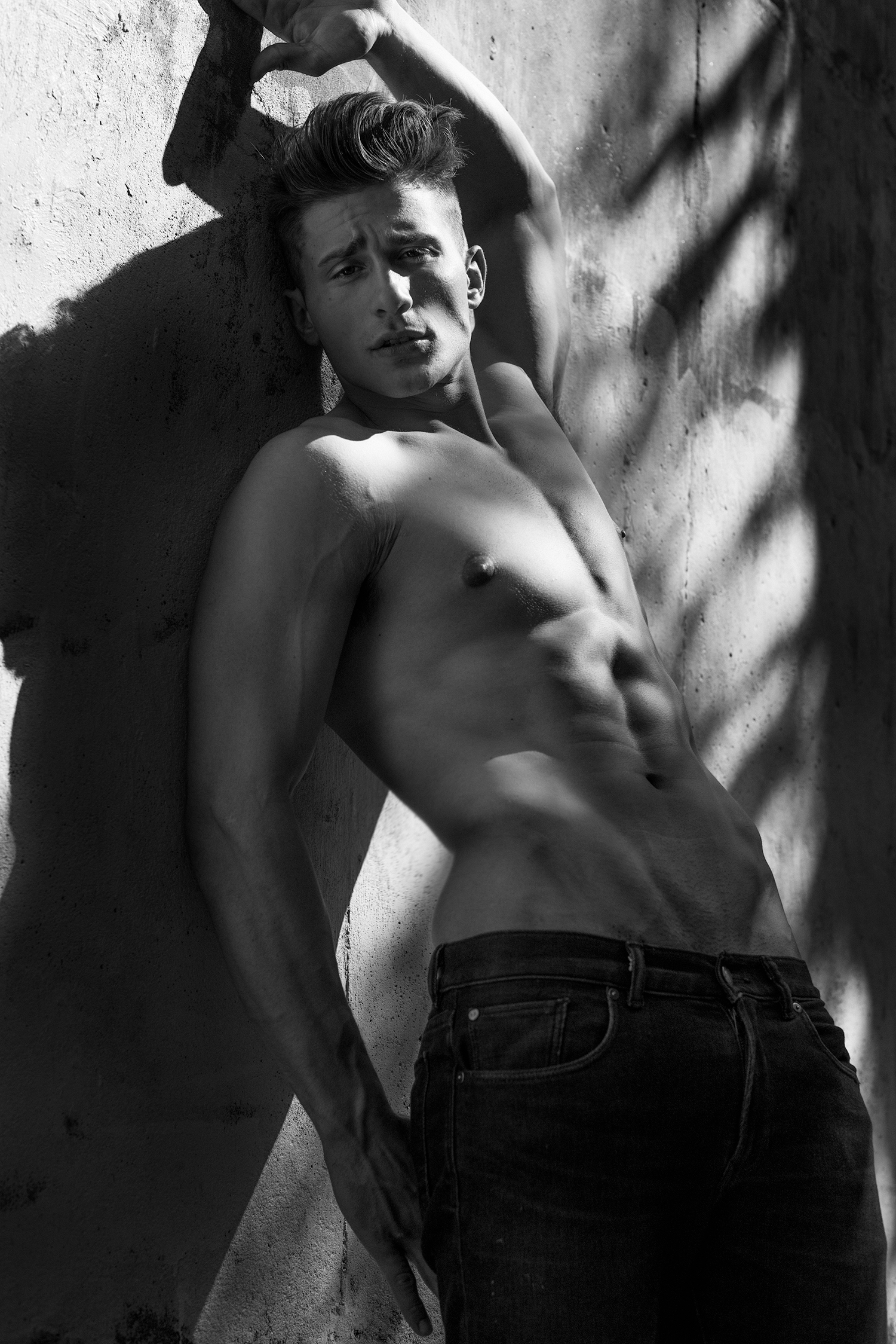 Adon Exclusive: Model Joe Pietrefesa By Frank Marando
