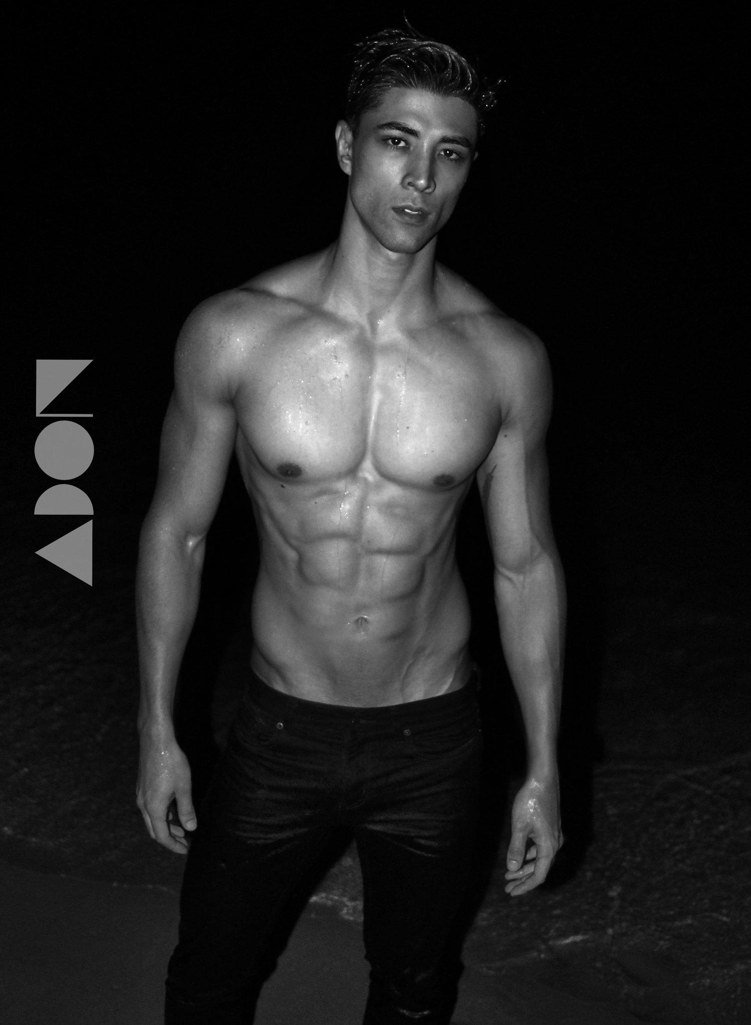 Adon Exclusive: Model Seid N. By Riccardo Del Pozzo