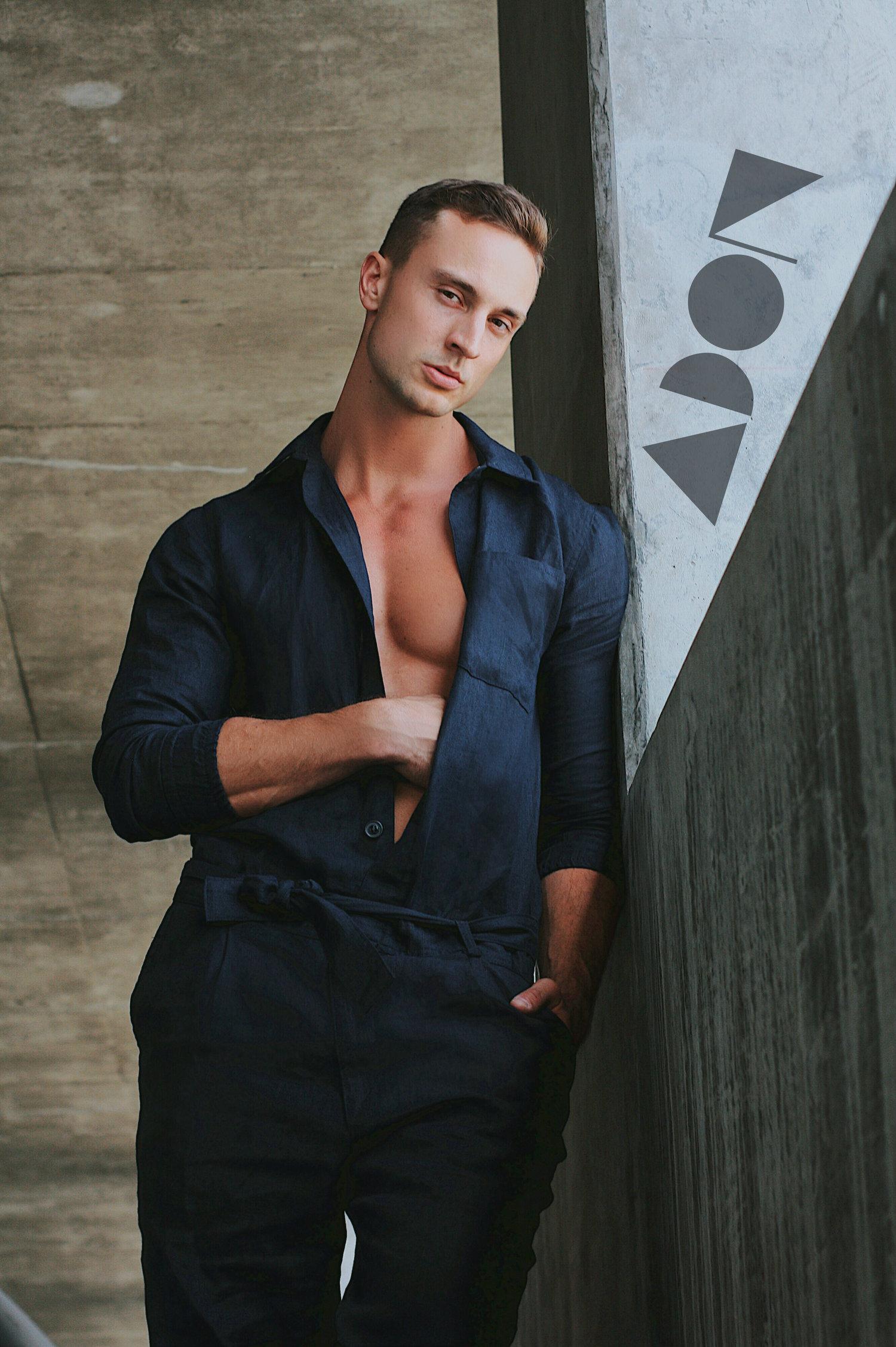 Adon Exclusive: Model Derek Tolnai By Luis Lucas