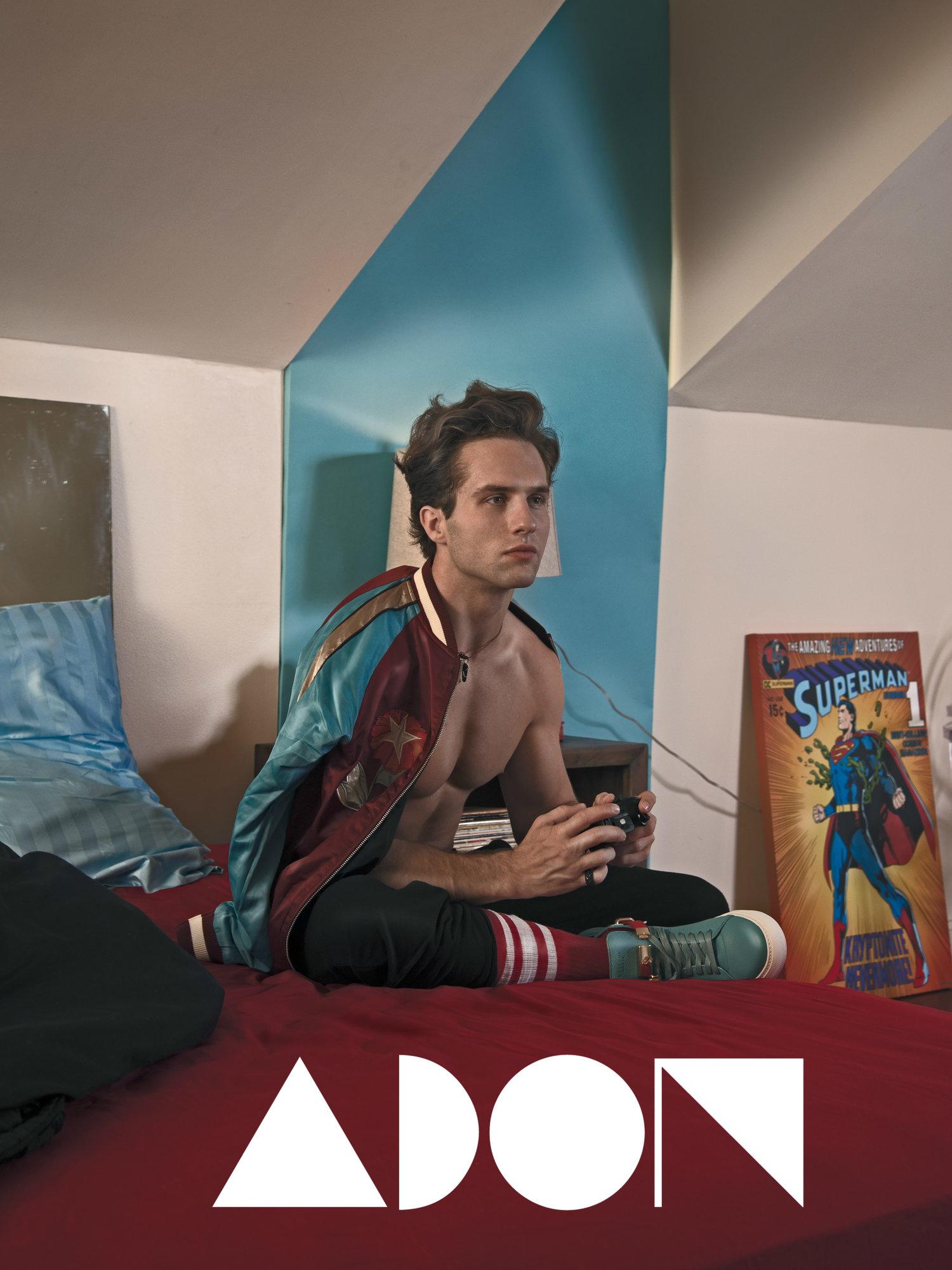 Adon Exclusive: Model Brant Harris By Viktor Klimenko