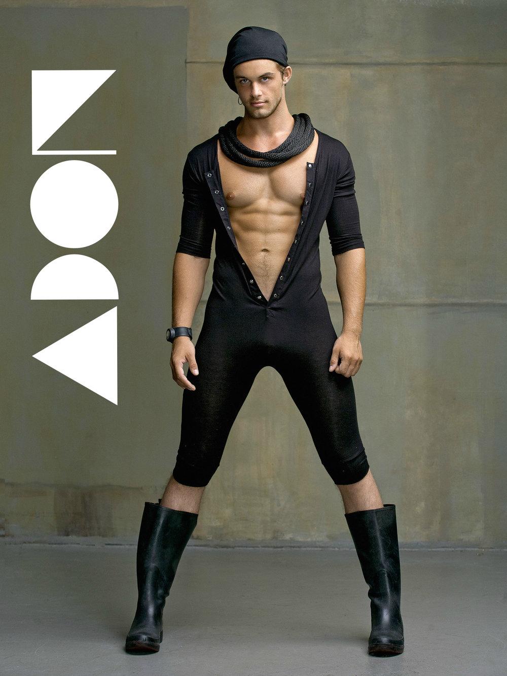 Romper: N2N bodywear Boots: Stylist Watch: Swatch