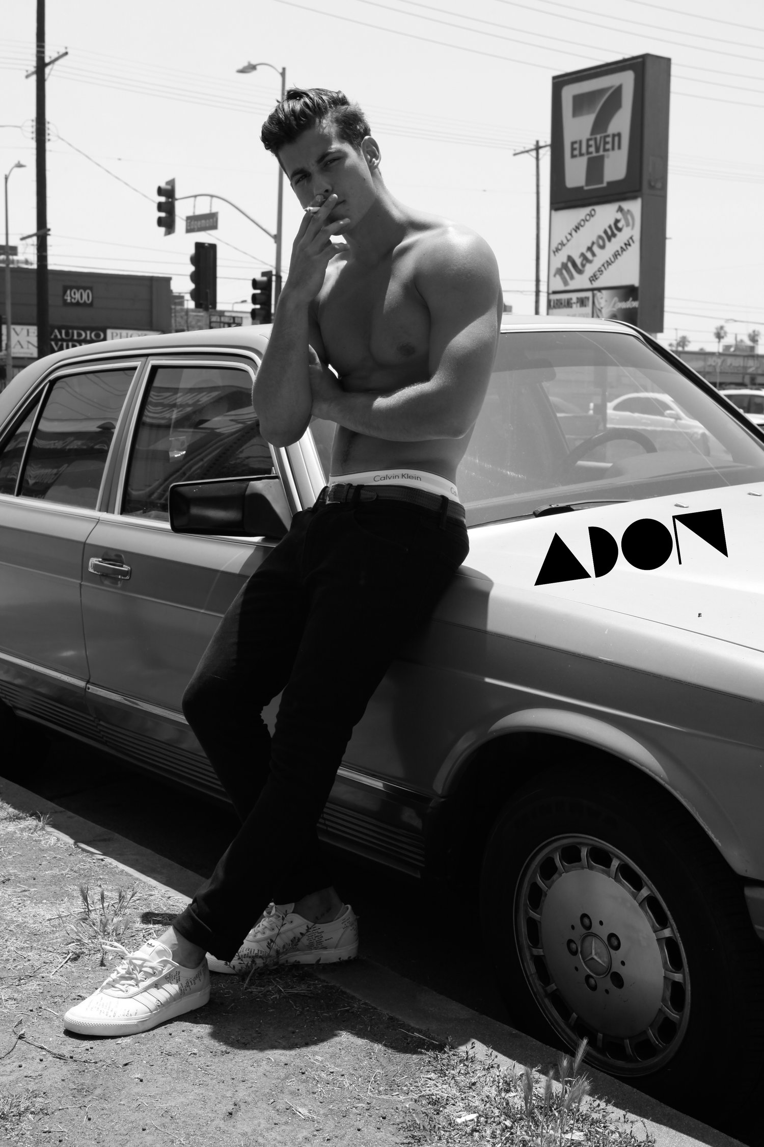 Adon Exclusive: Model Manny By Brendan Minto