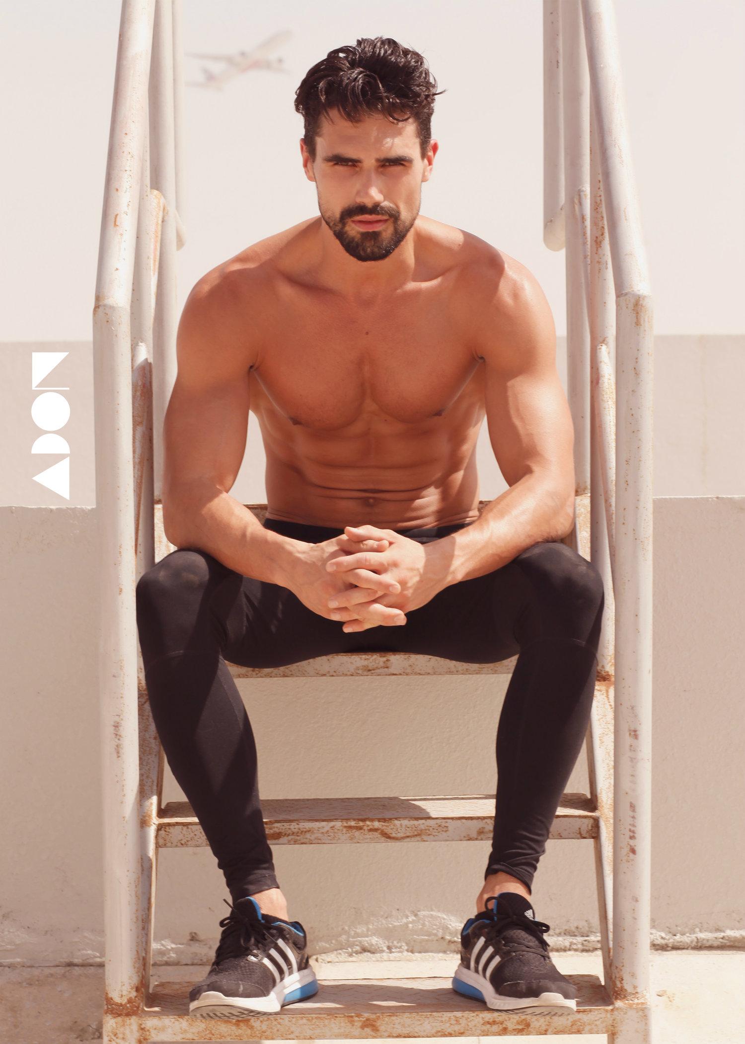 Adon Exclusive: Model Andrew Andrei By Jonas P. Sergio