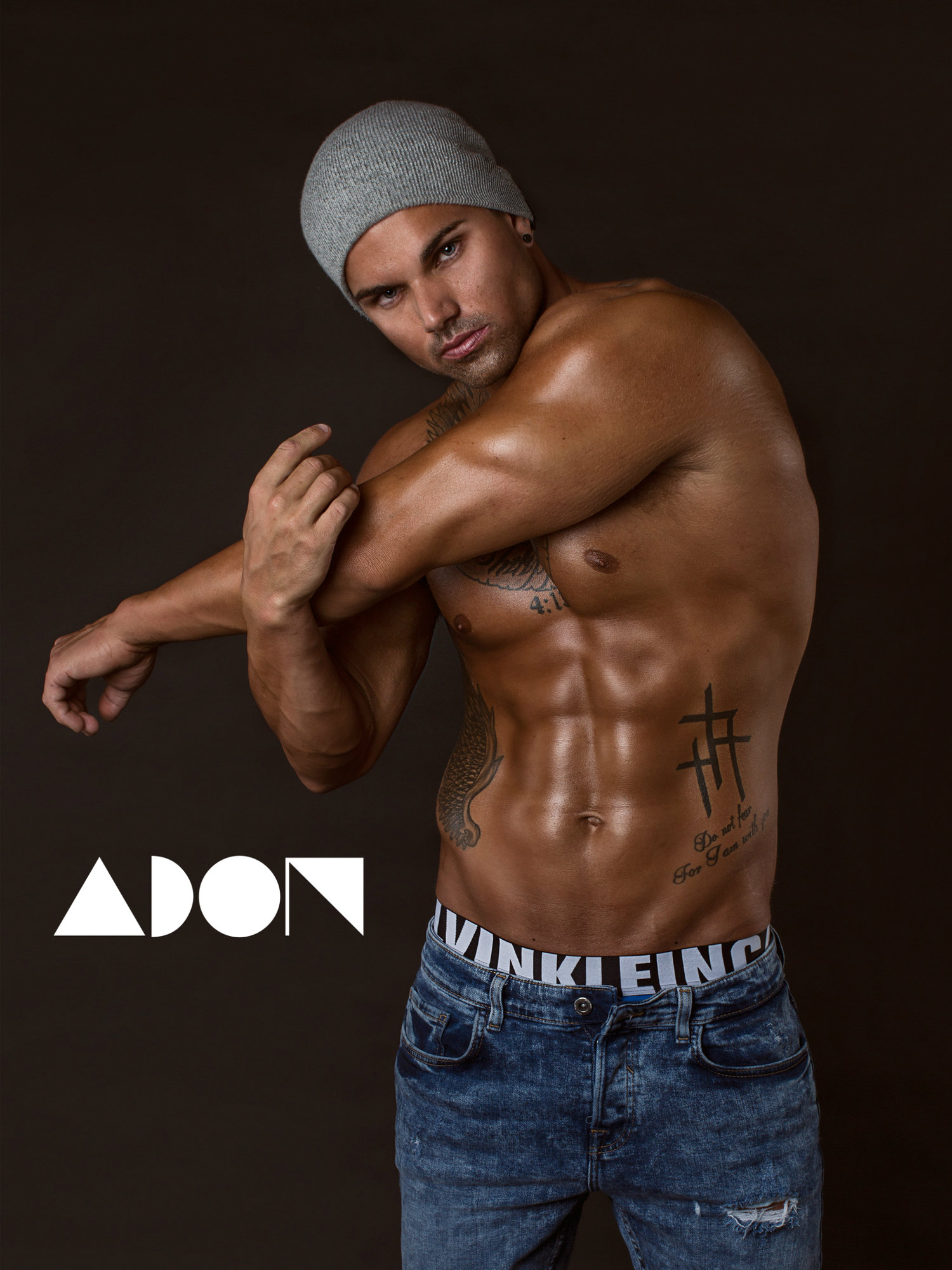 Adon Exclusive: Model Keith Frazer By Jarrod Carter