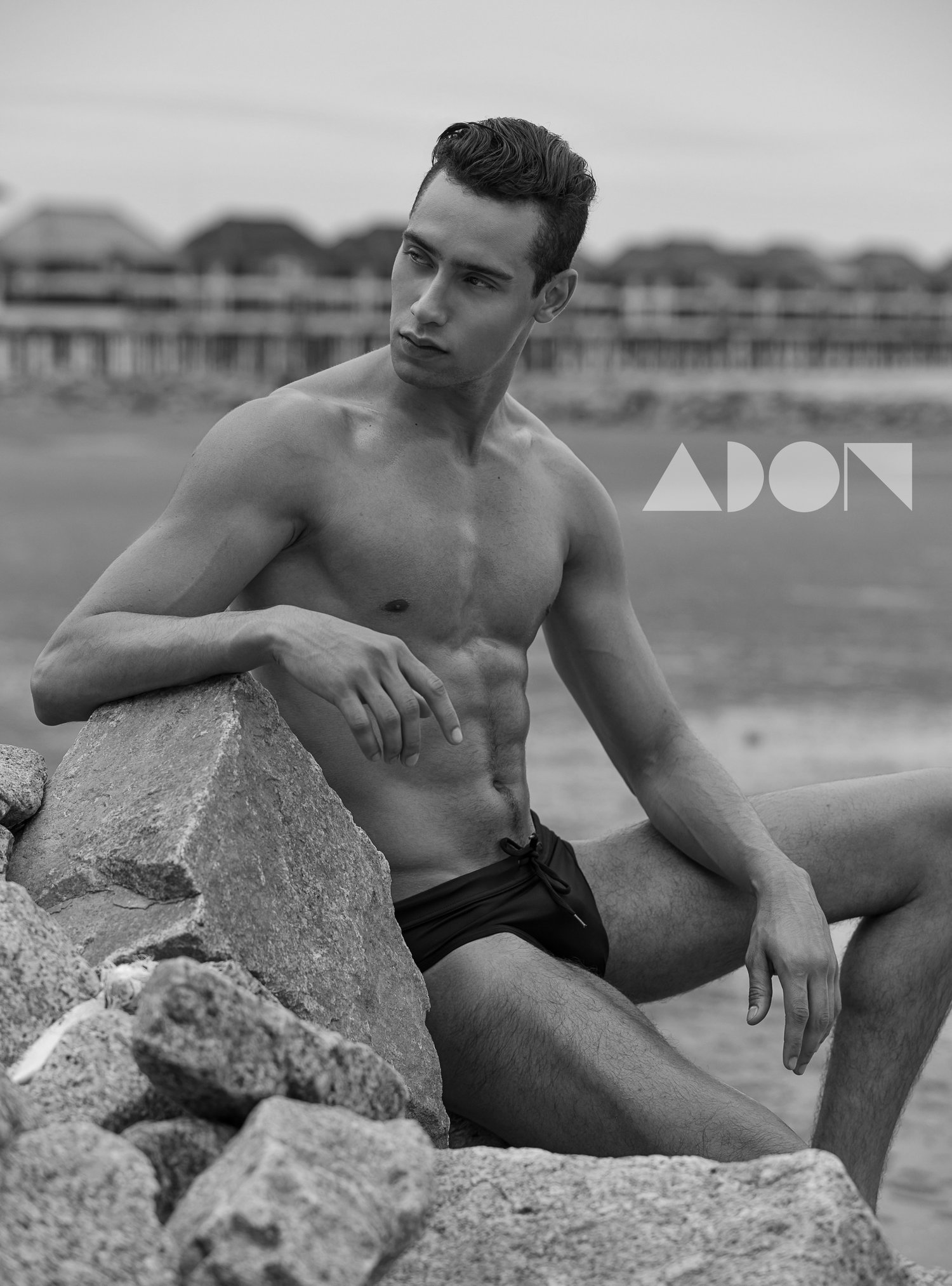 Adon Exclusive: Model Gustavo Dias By Jason Oung