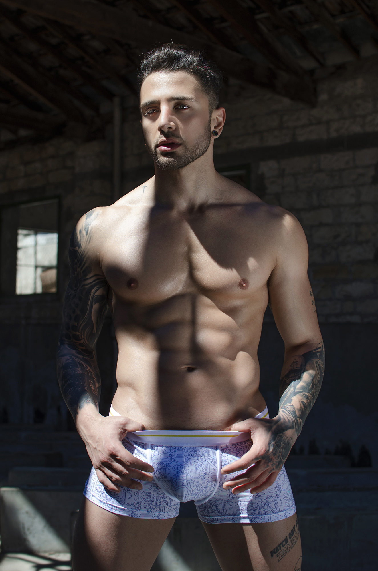 Adon Exclusive: Model Christos Artemiou By Stavros Christodoulou