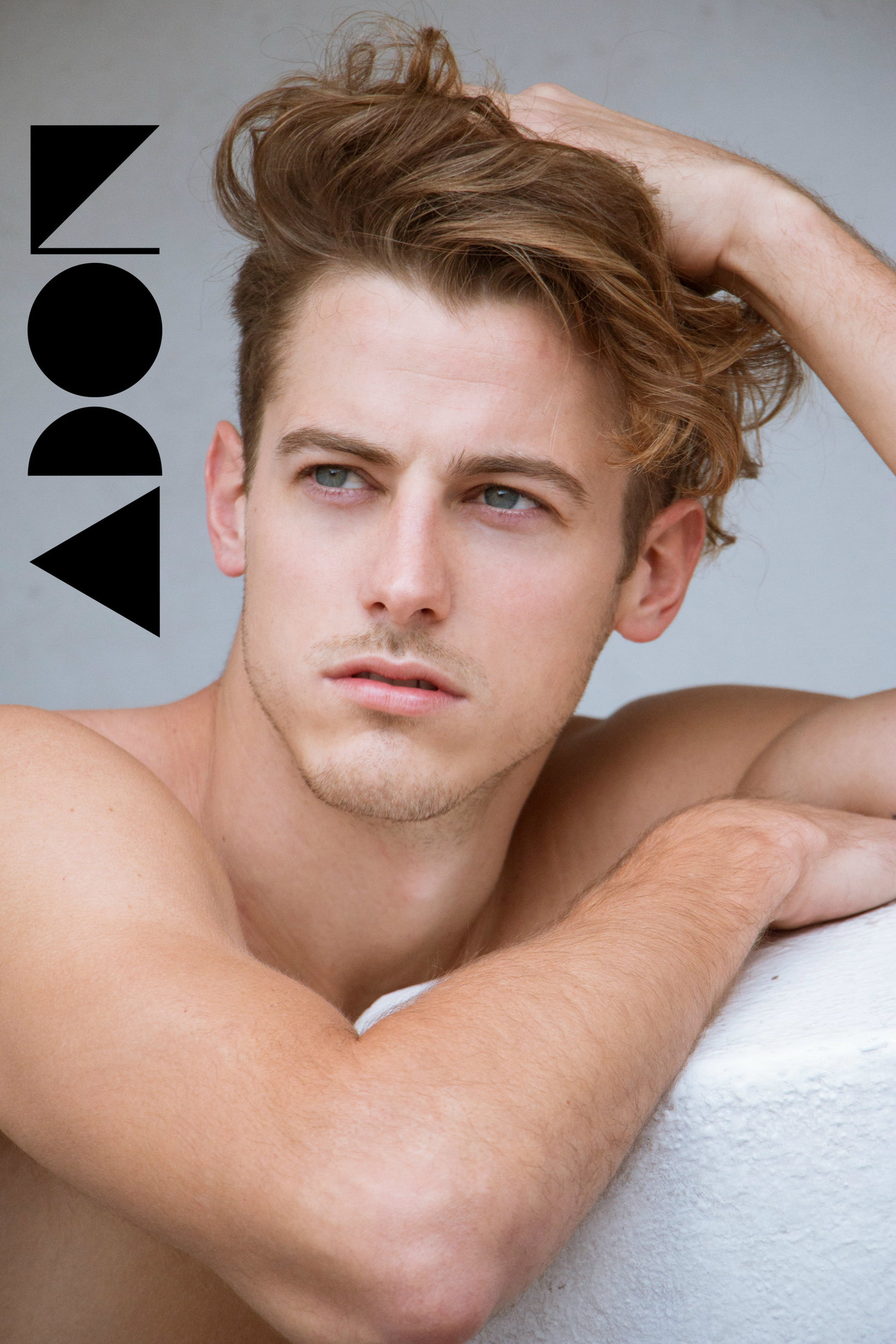Adon Exclusive: Model Christian Ganon By Victor Ozuna