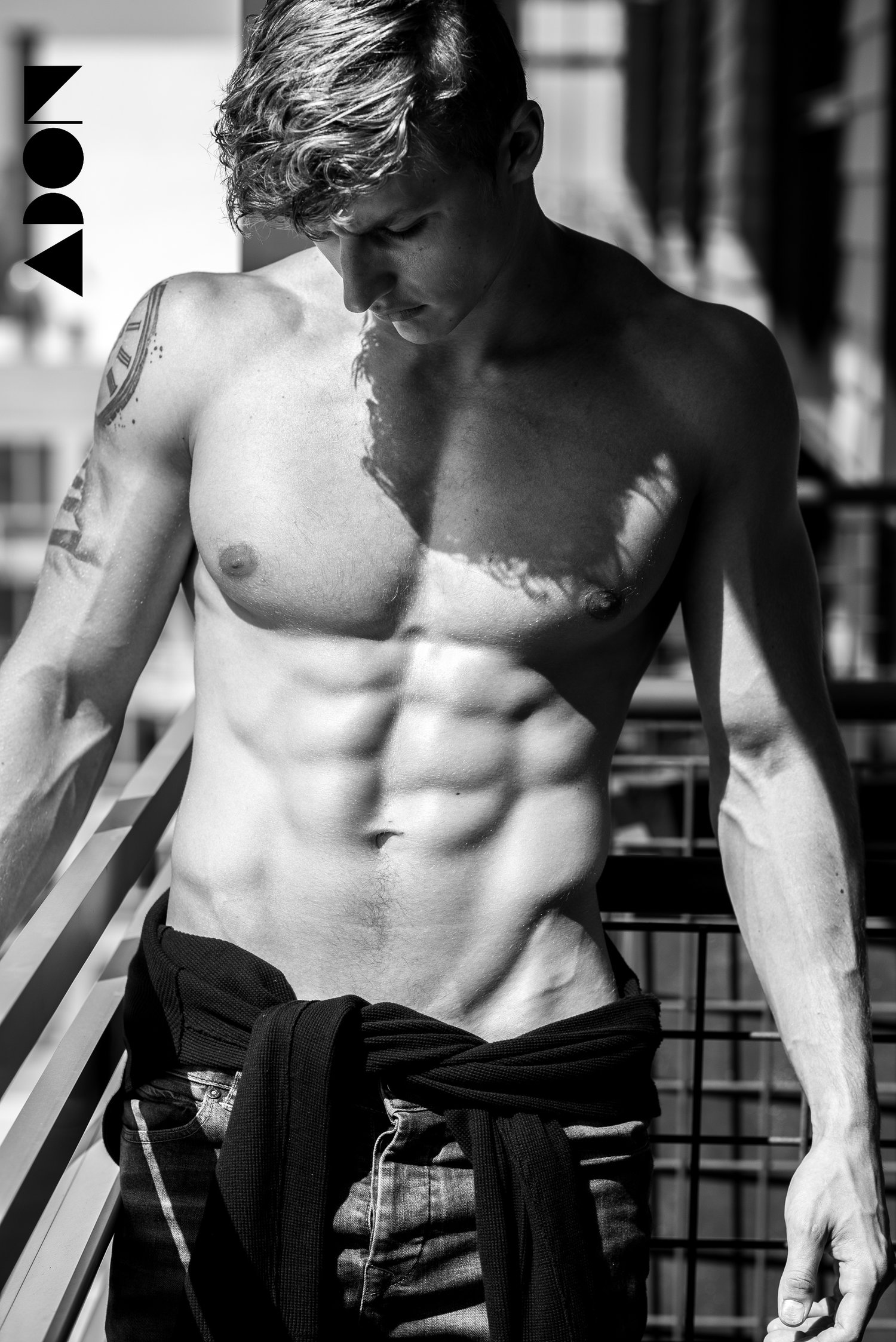 Adon Exclusive: Model Nikita Konovalov By Jonjie Baniel