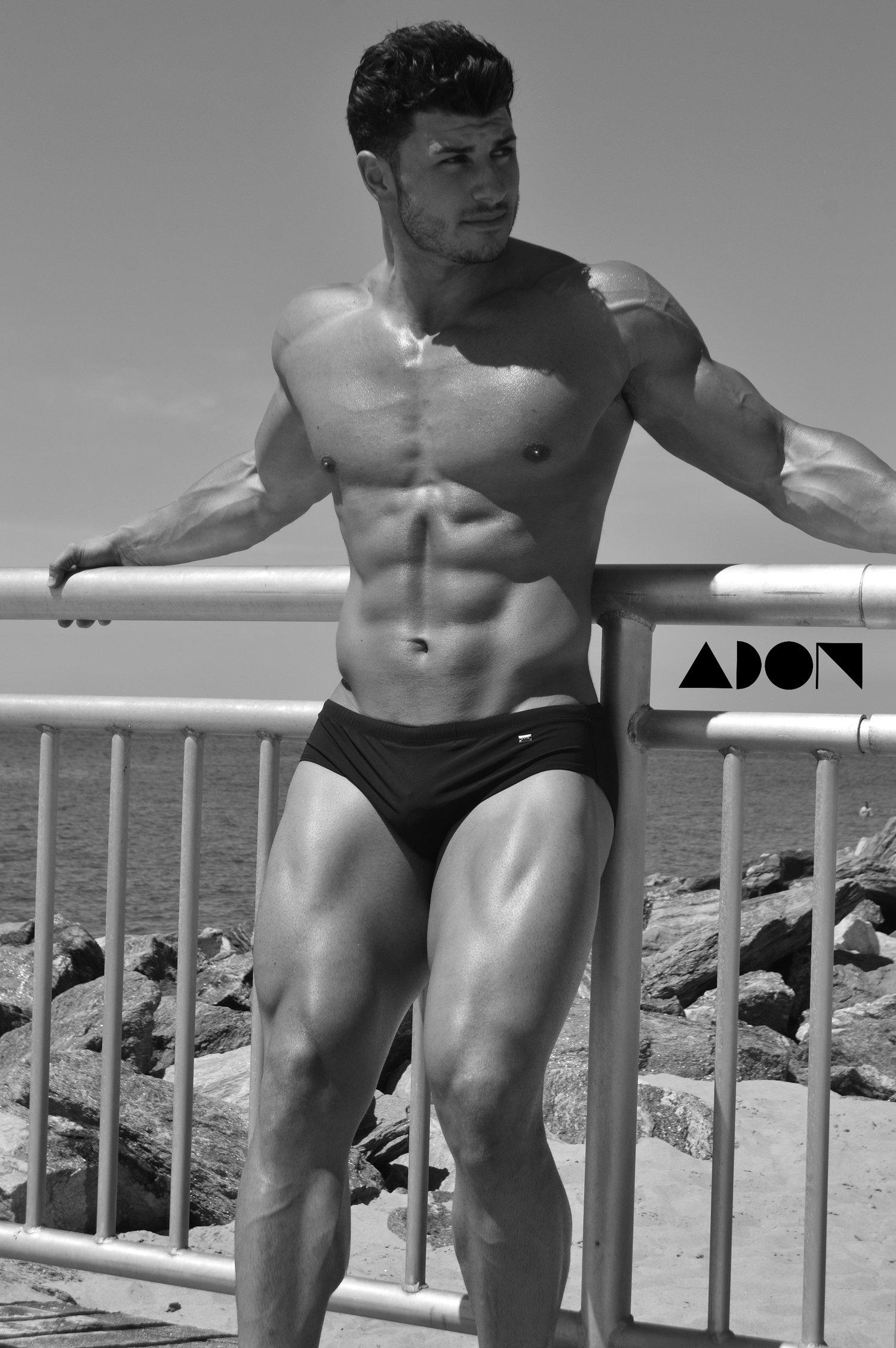 Adon Exclusive: Model Joe Calabrese By Price Brendon