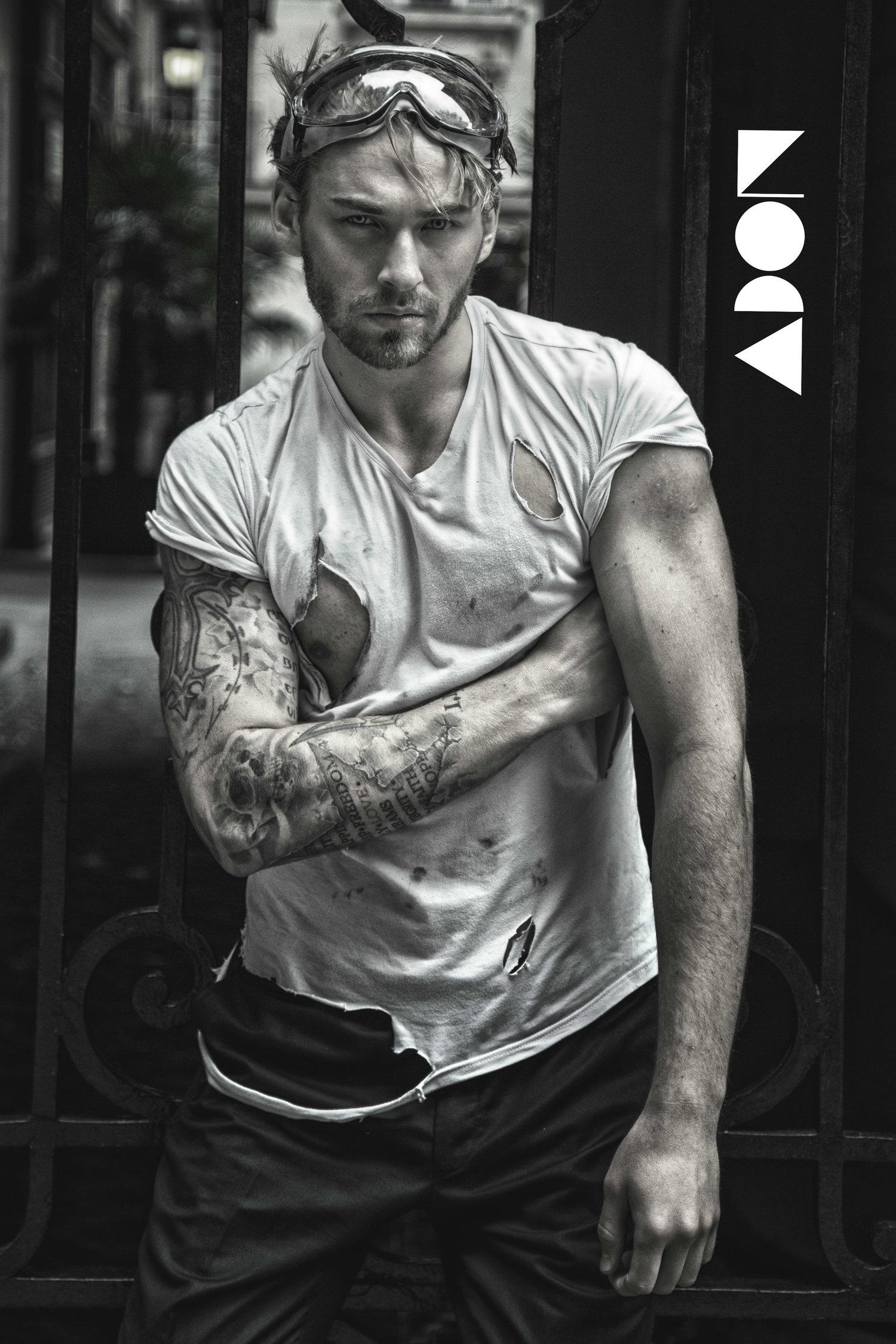 Adon Exclusive: Model Roman Federchenko By Ramy Gad