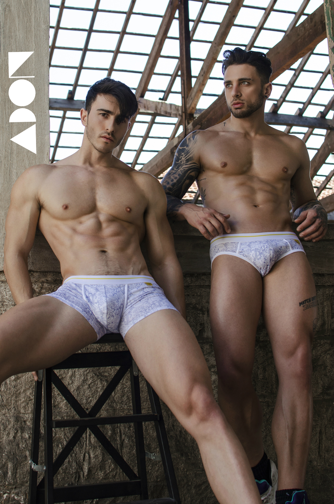 Adon Exclusive: Models Andreas O'Neill and Christos Artemiou By Stavros Christodoulou
