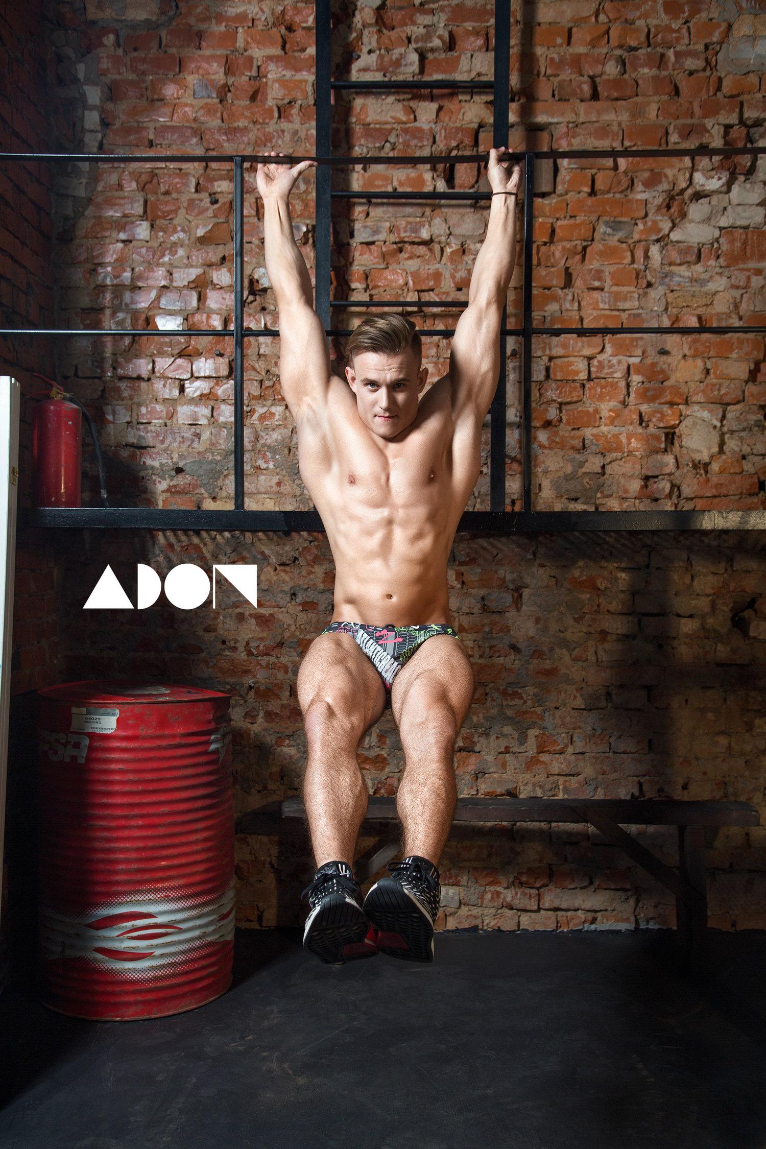 Adon Exclusive: Model Artem Isakin By RussianSportsmen