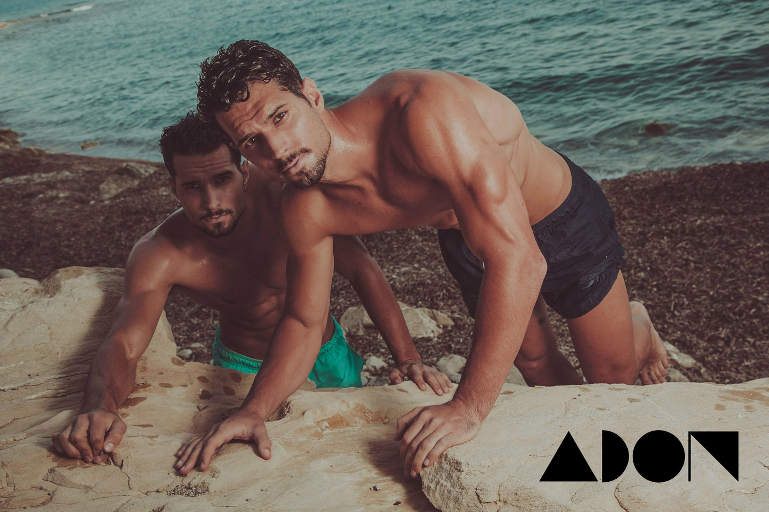 Adon Exclusive: Models Kike and Nando Tovar By Jose Martinez