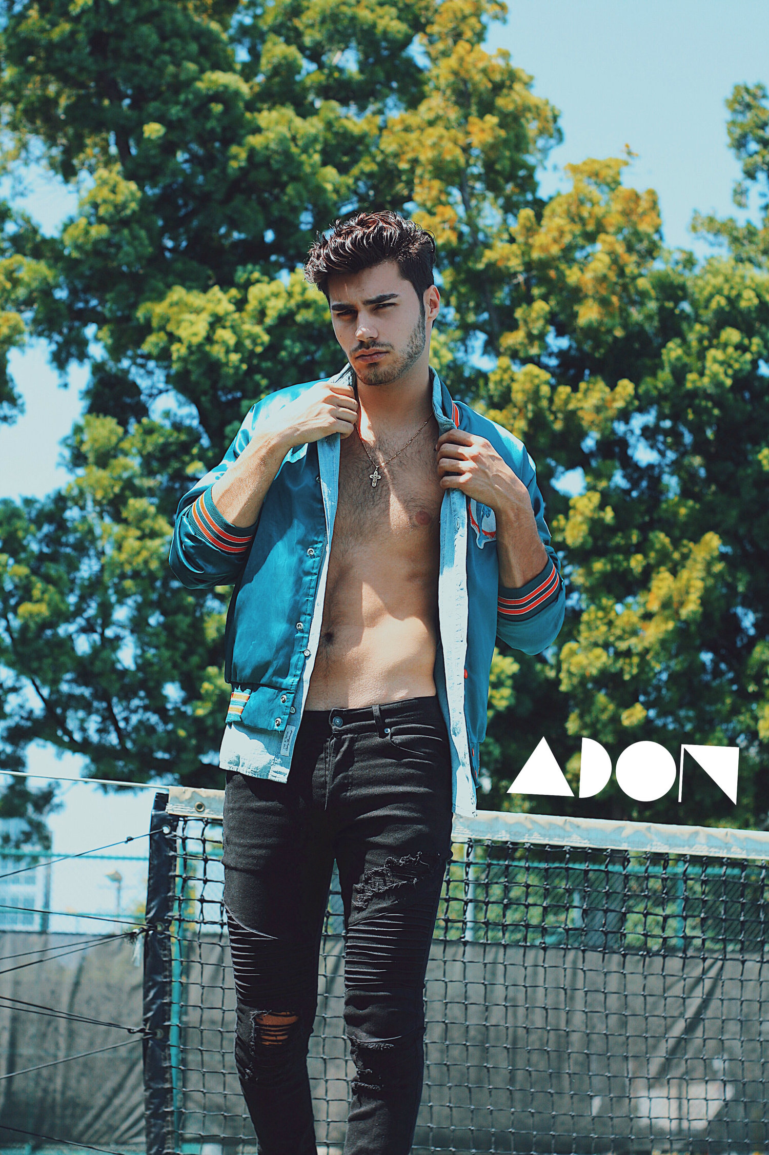 Adon Exclusive: Model Jay Wynter By Luis Lucas