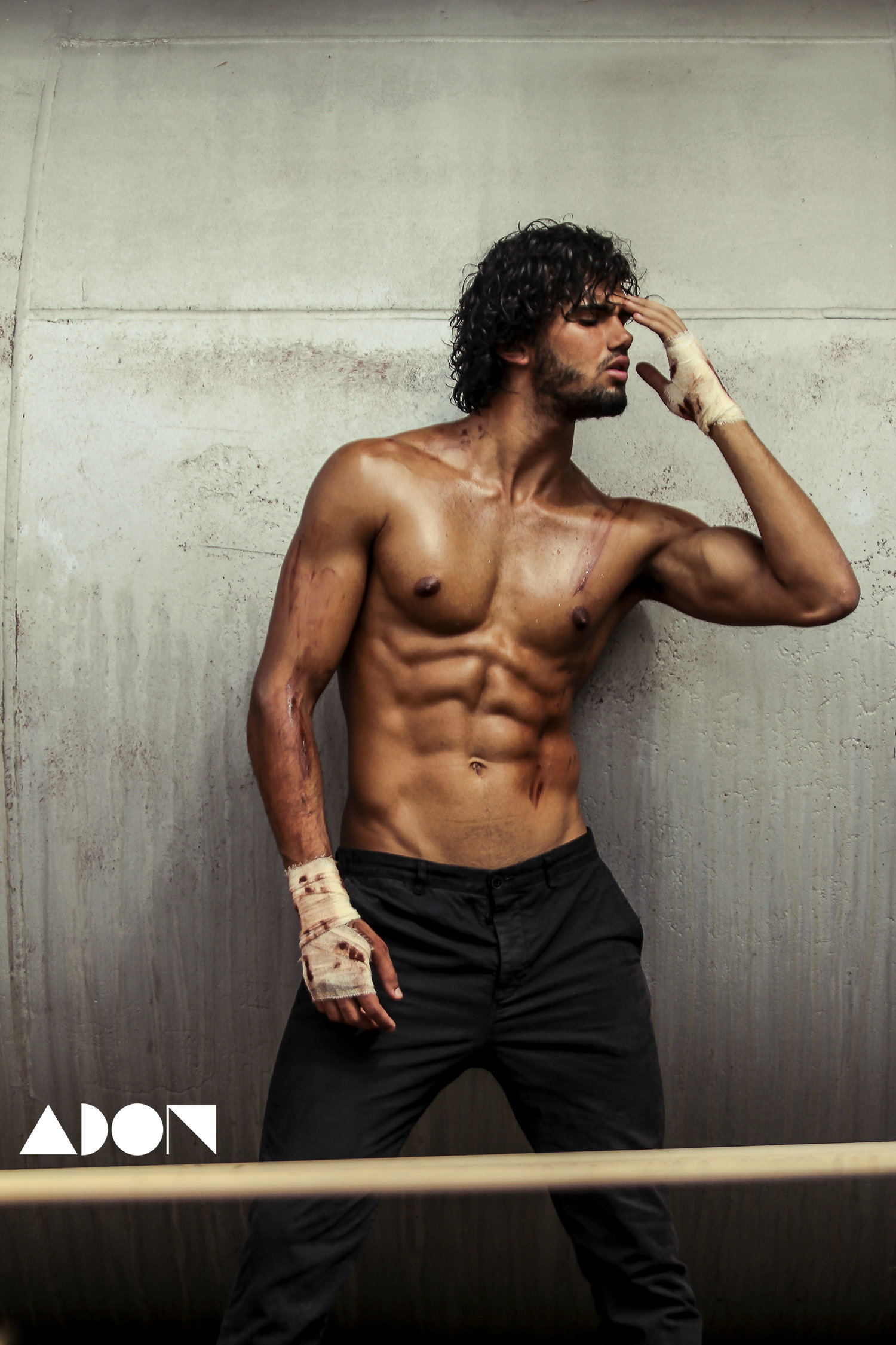 Adon Exclusive: Model Patrick Luvise By Marcio Farias